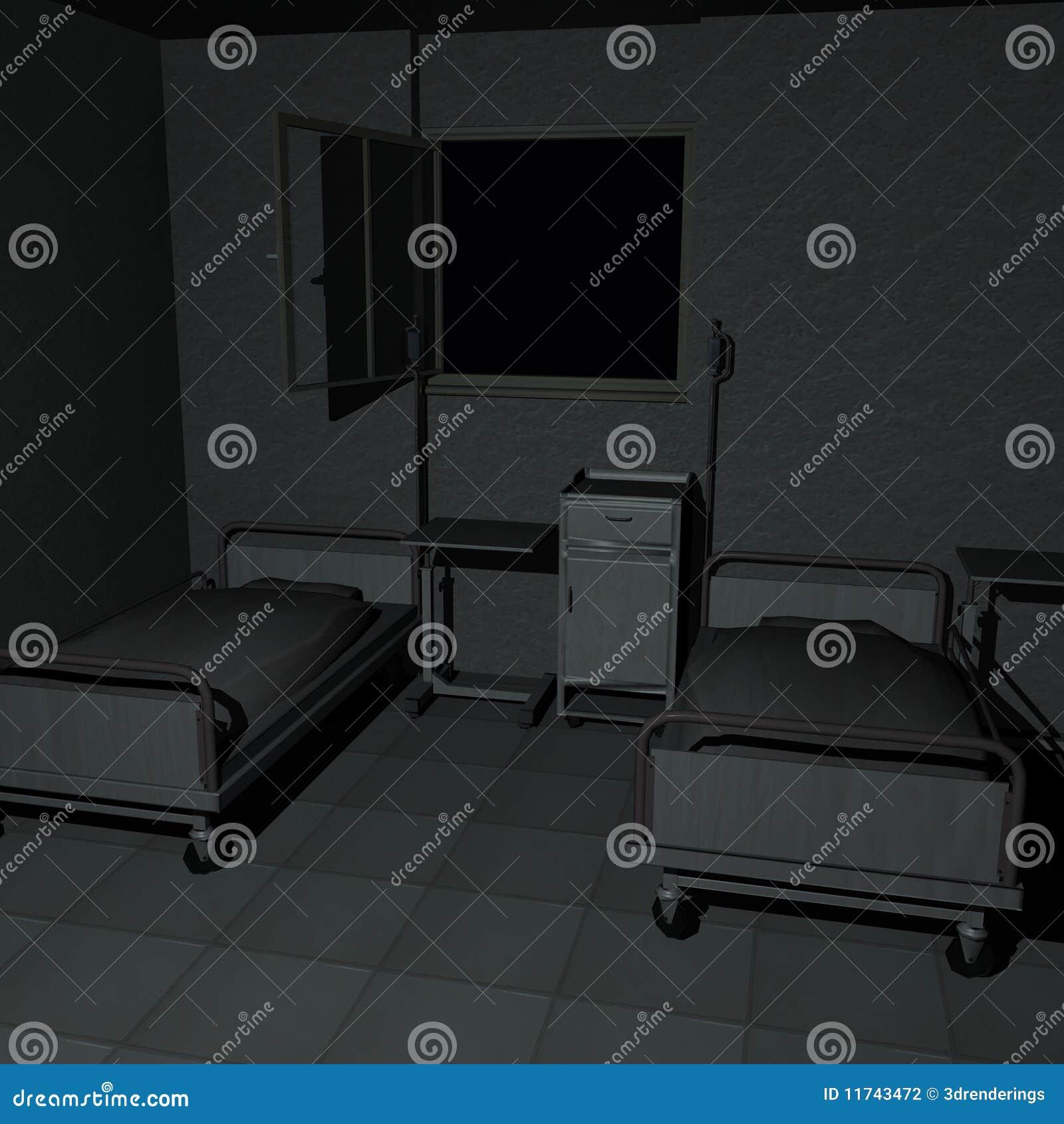 De ruimte van het ziekenhuis stock illustratie afbeelding 11743472 - Ruimte van het meisje parket ...