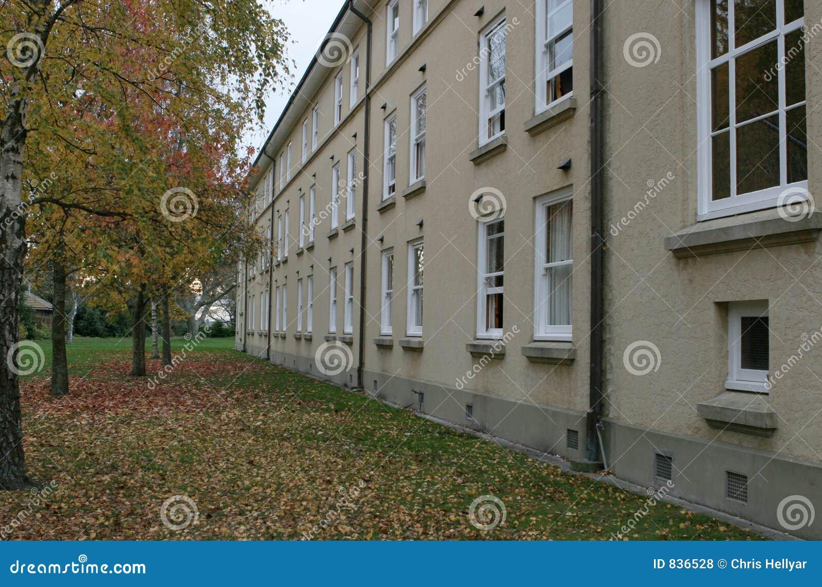 De ruimten van Dorm in de Herfst