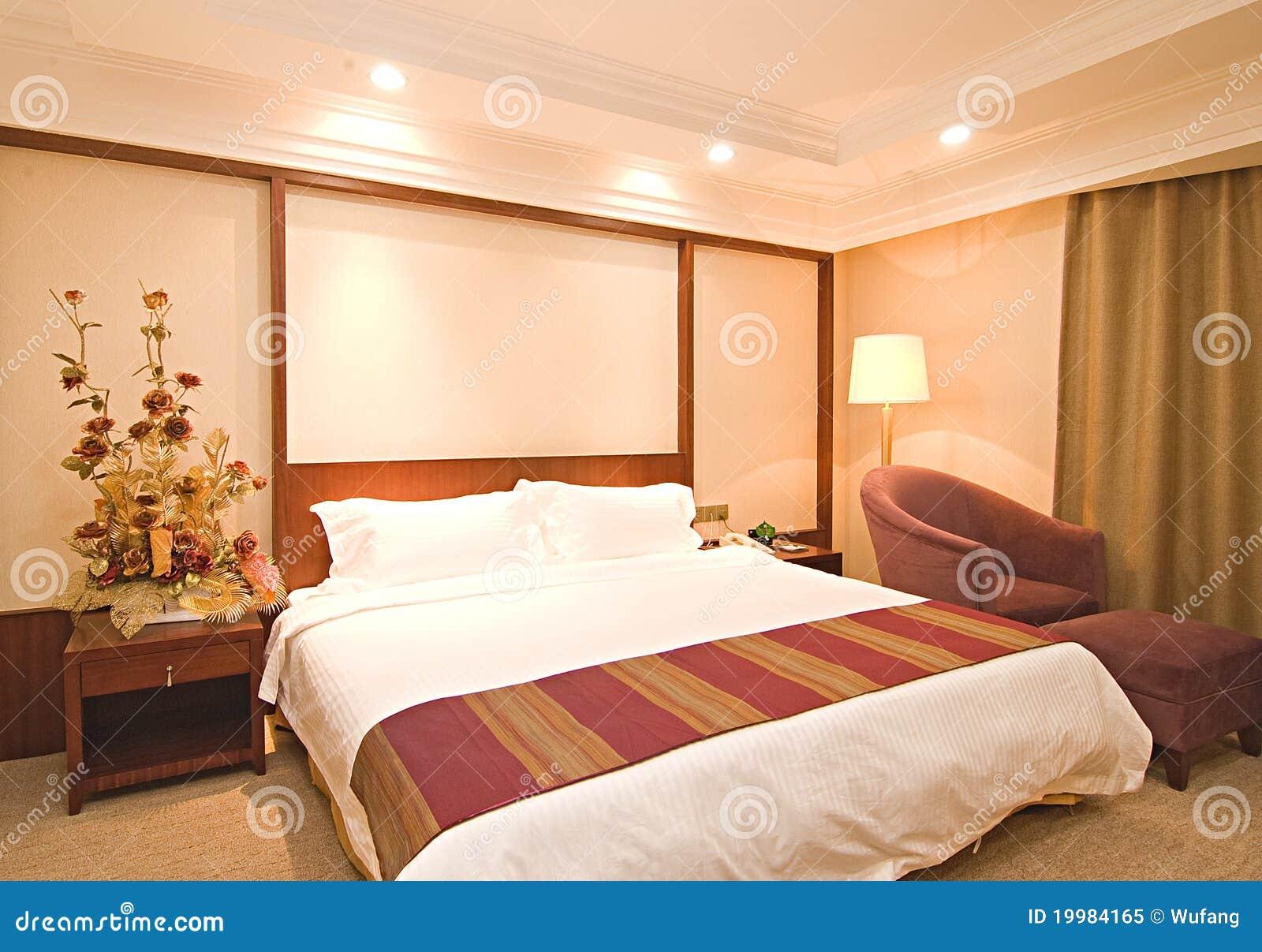 De ruimten van het hotel