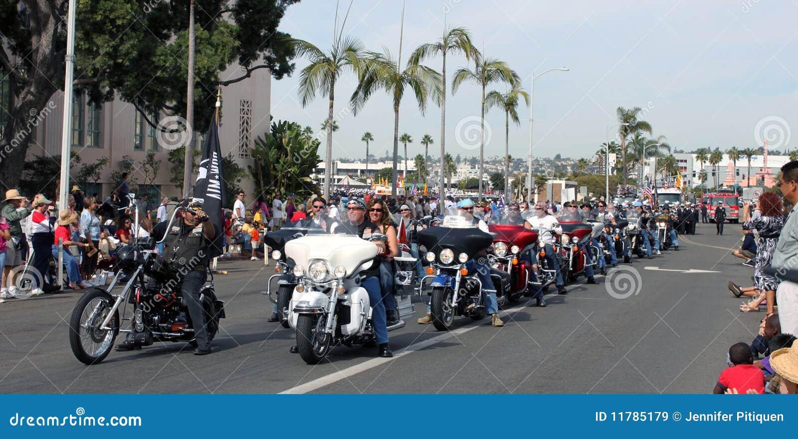 De Ruiters van de Motorfiets van Harley-Davidson