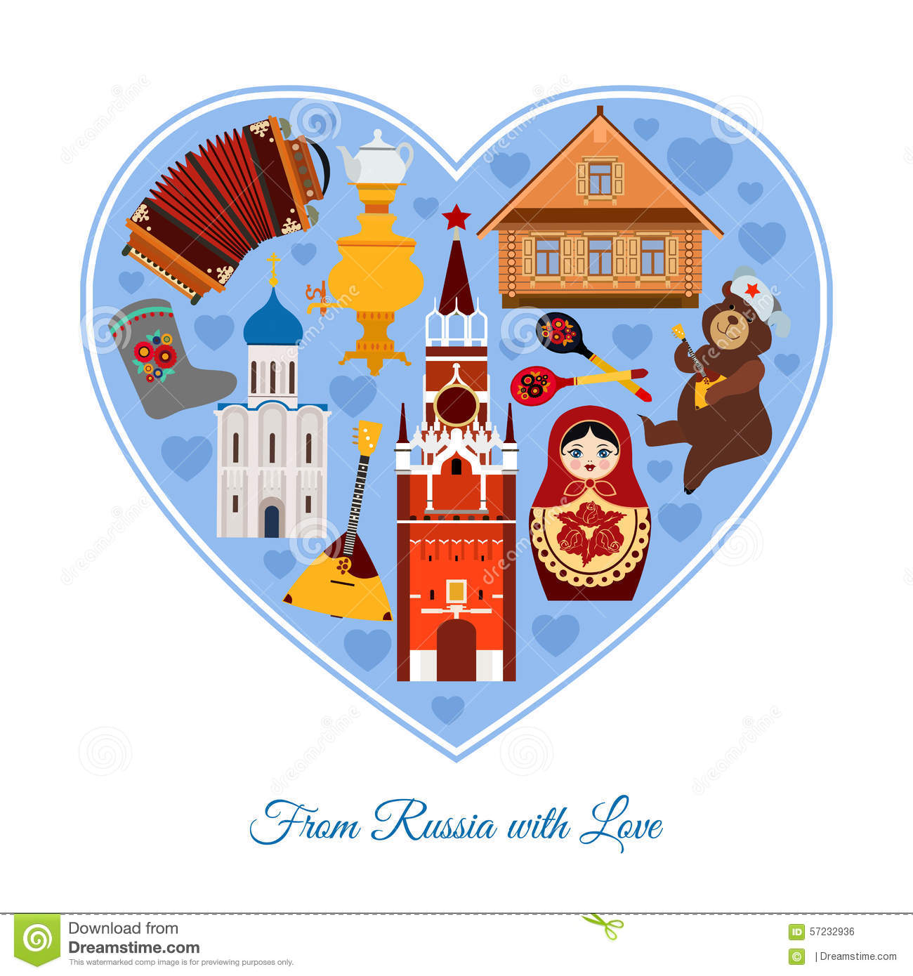 Russie avec amour russe