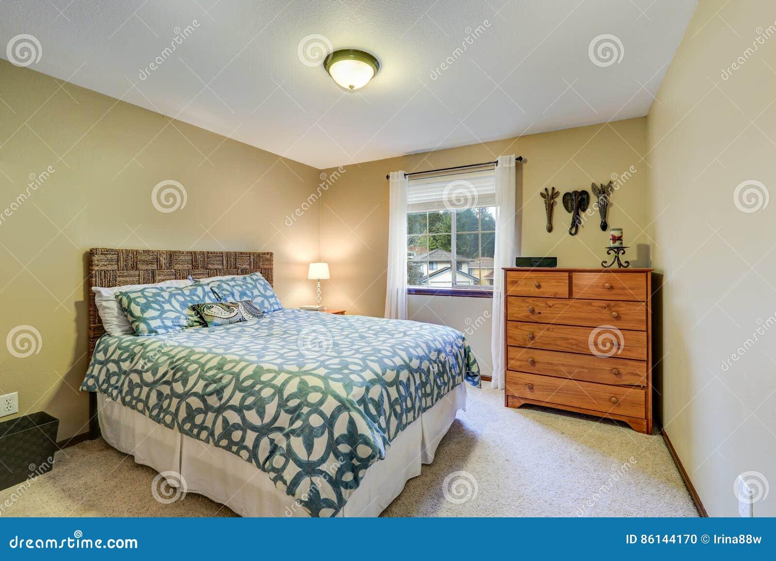 Een Rustgevende Slaapkamer : Verf de muren van je slaapkamer in deze kleur voor een betere