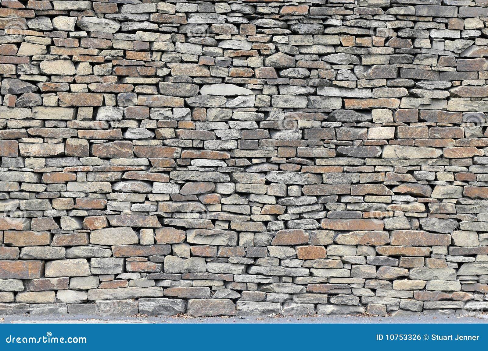 De rustieke muur van de droge steen royalty vrije stock afbeelding afbeelding 10753326 - Muur van de ingang ...