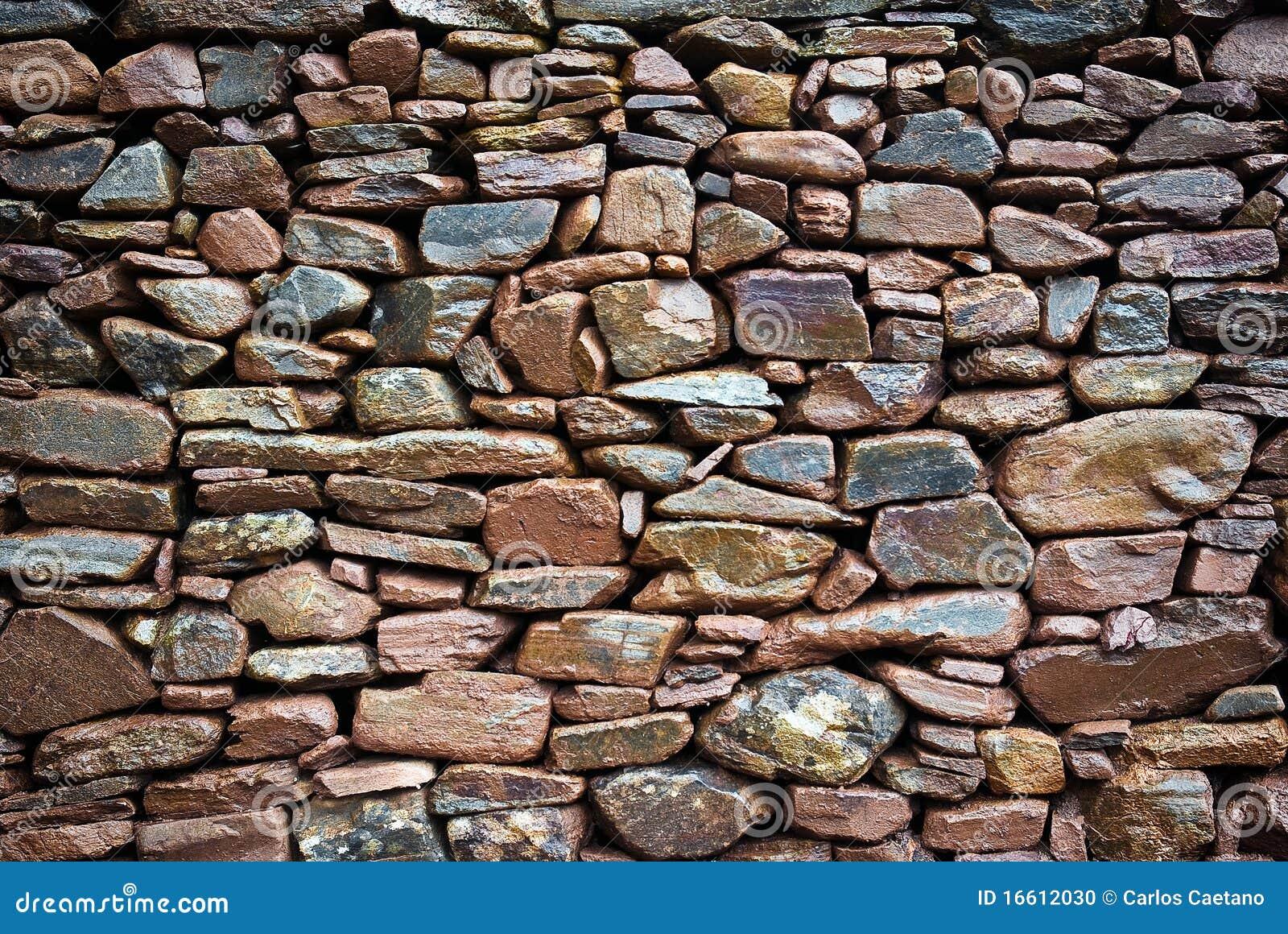 De rustieke muur van de steen stock foto afbeelding 16612030 - Muur van de ingang ...