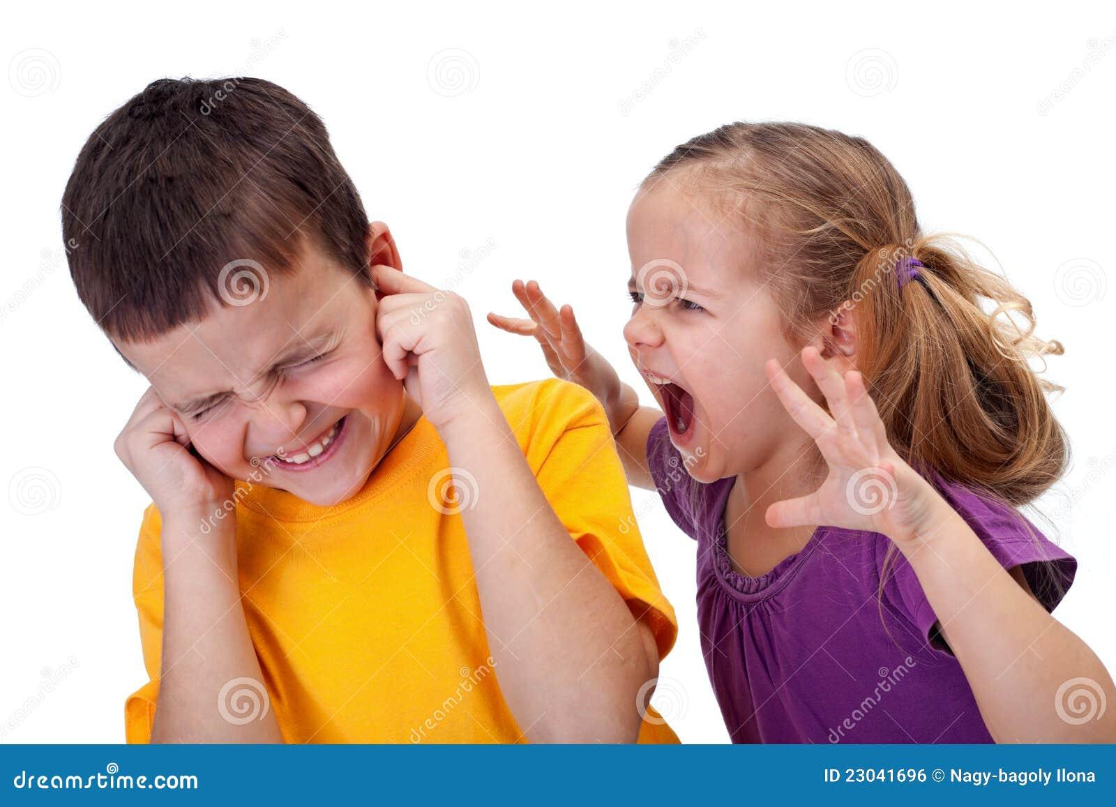 De ruzie van jonge geitjes meisje dat in woede schreeuwt royalty vrije stock afbeelding - Foto tiener ruimte meisje ...