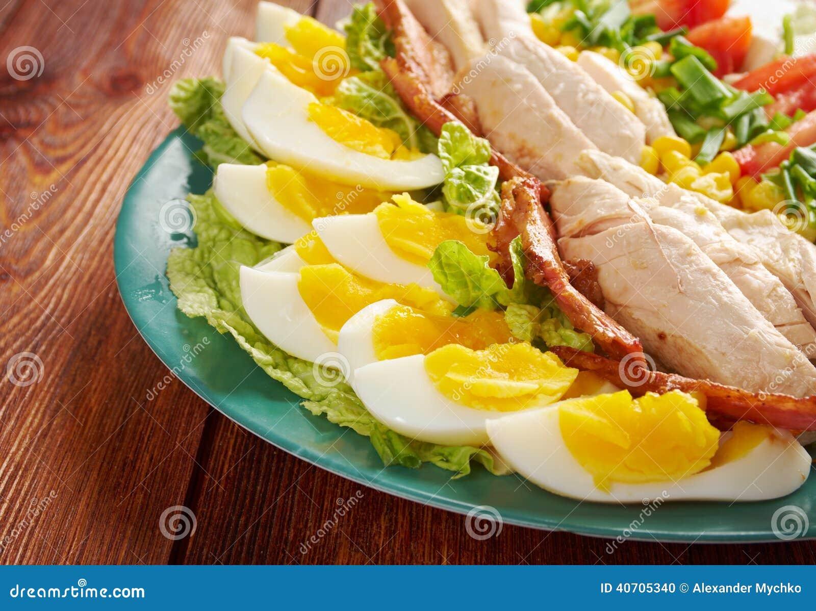 De salade van Cobb