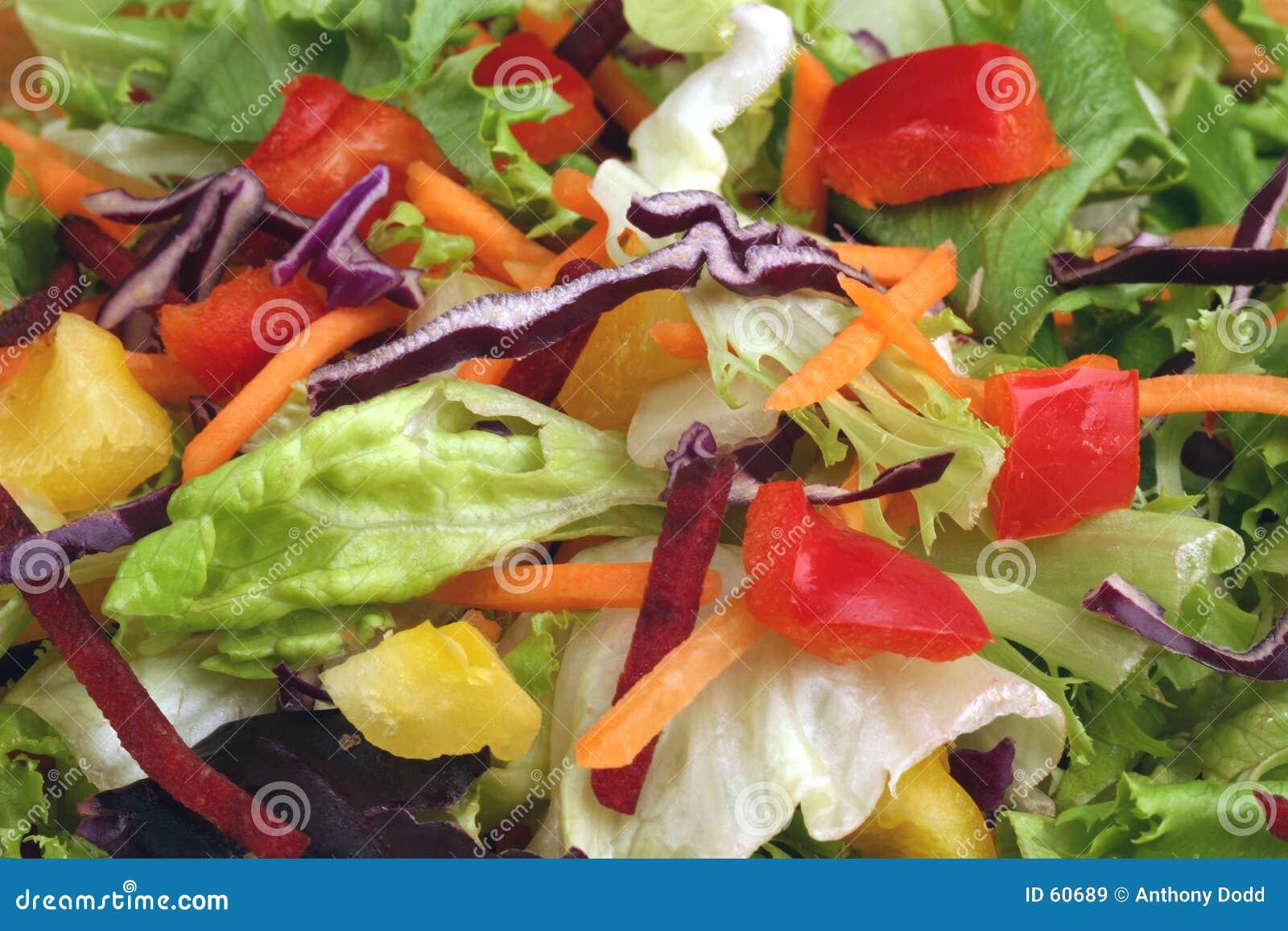 De Salade van de peper