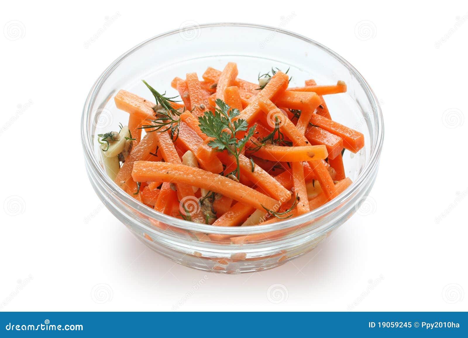 De salade van de wortel stock afbeelding afbeelding for Vers de salade