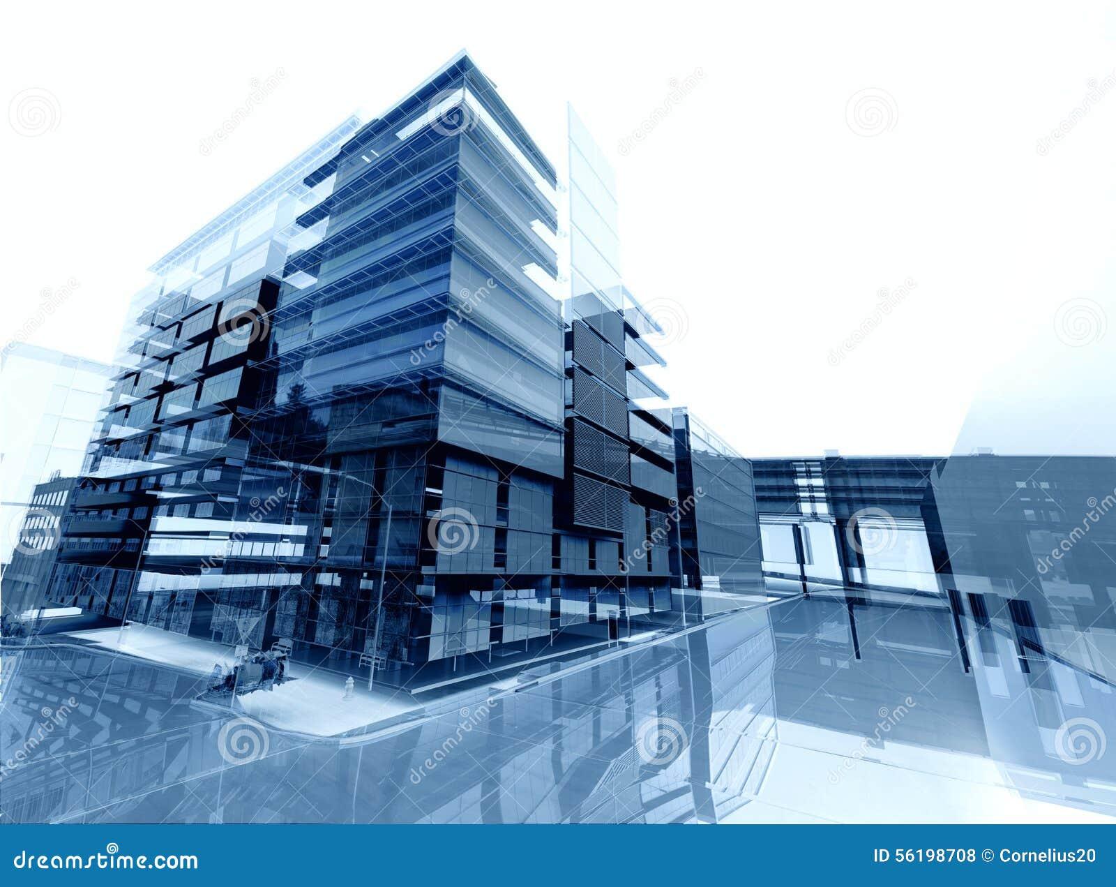 De samenvatting van de architectuur