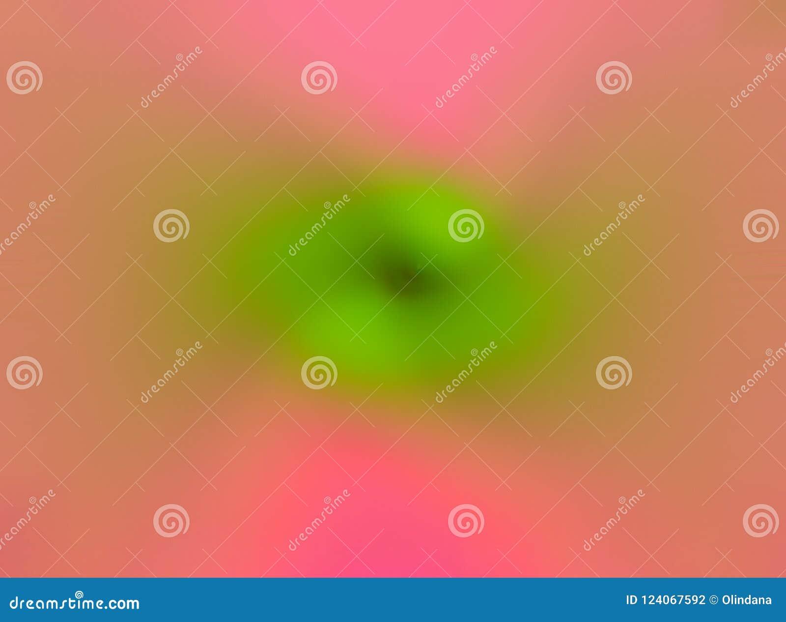 De samenvatting vertroebelde multicolored roze fuchsiakleurig groene kleuren wervelings radiale van de achtergrondneonpastelkleur