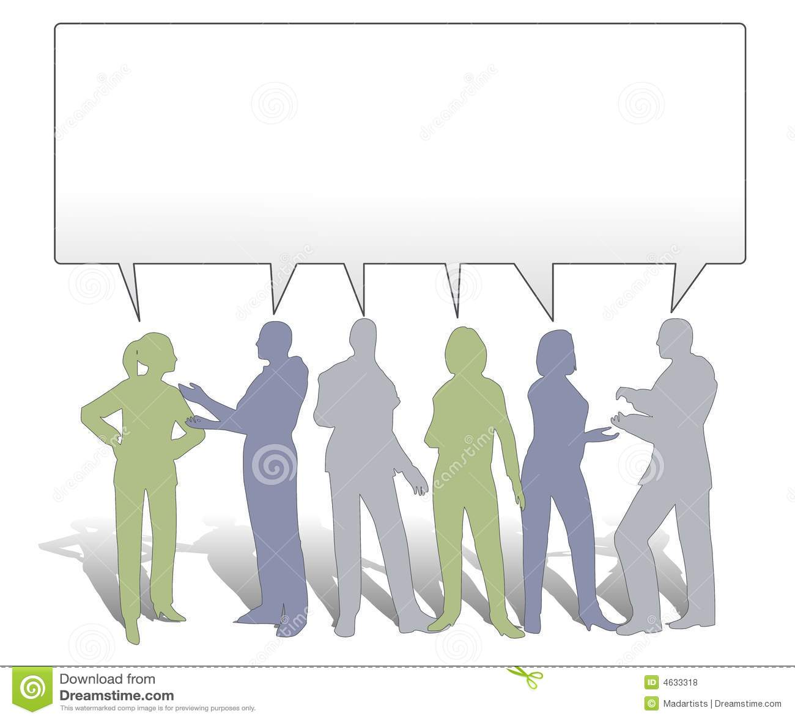 De Samenwerking die van het team Ideeën deelt