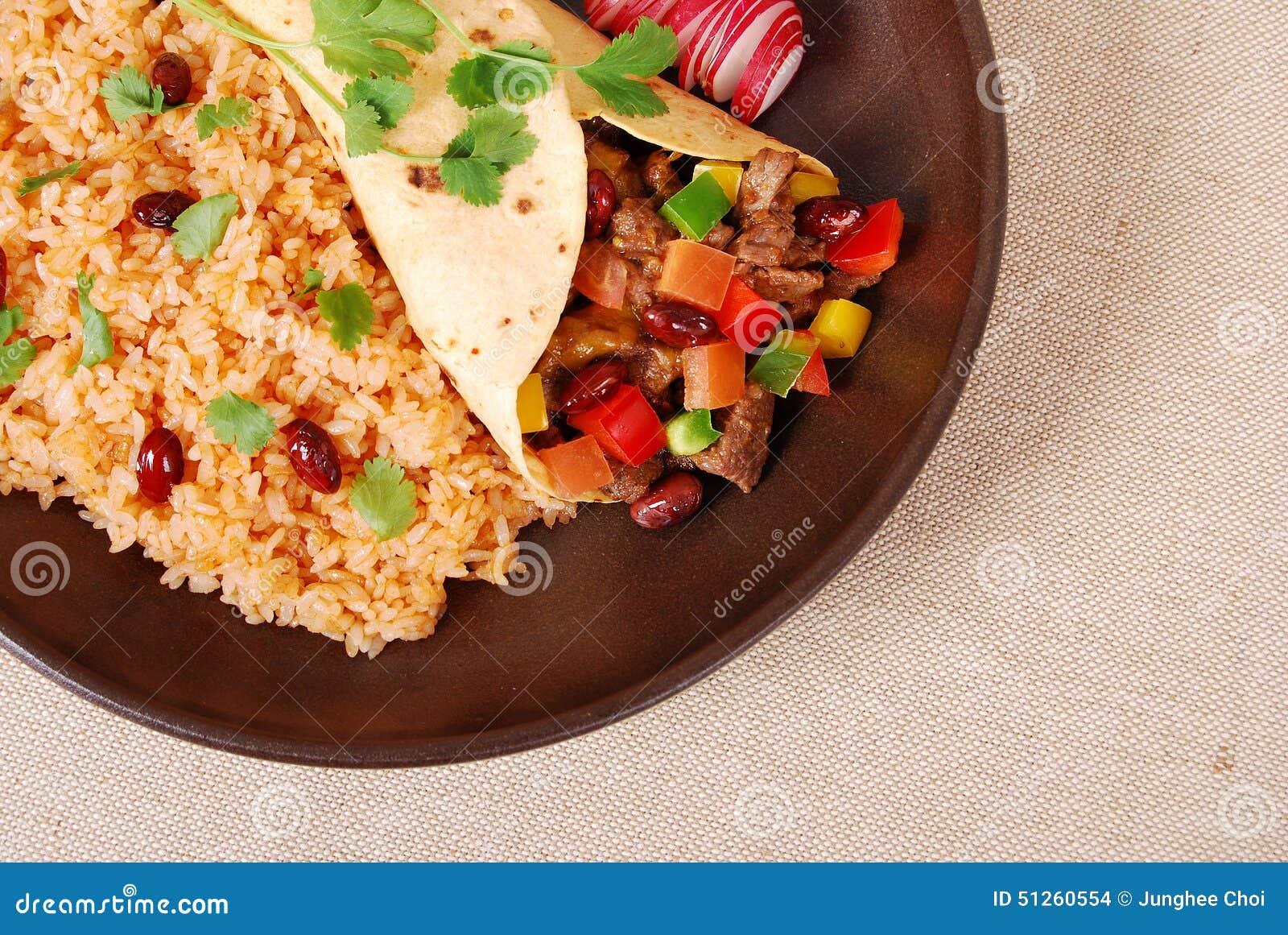 De sandwich van de Burritoomslag