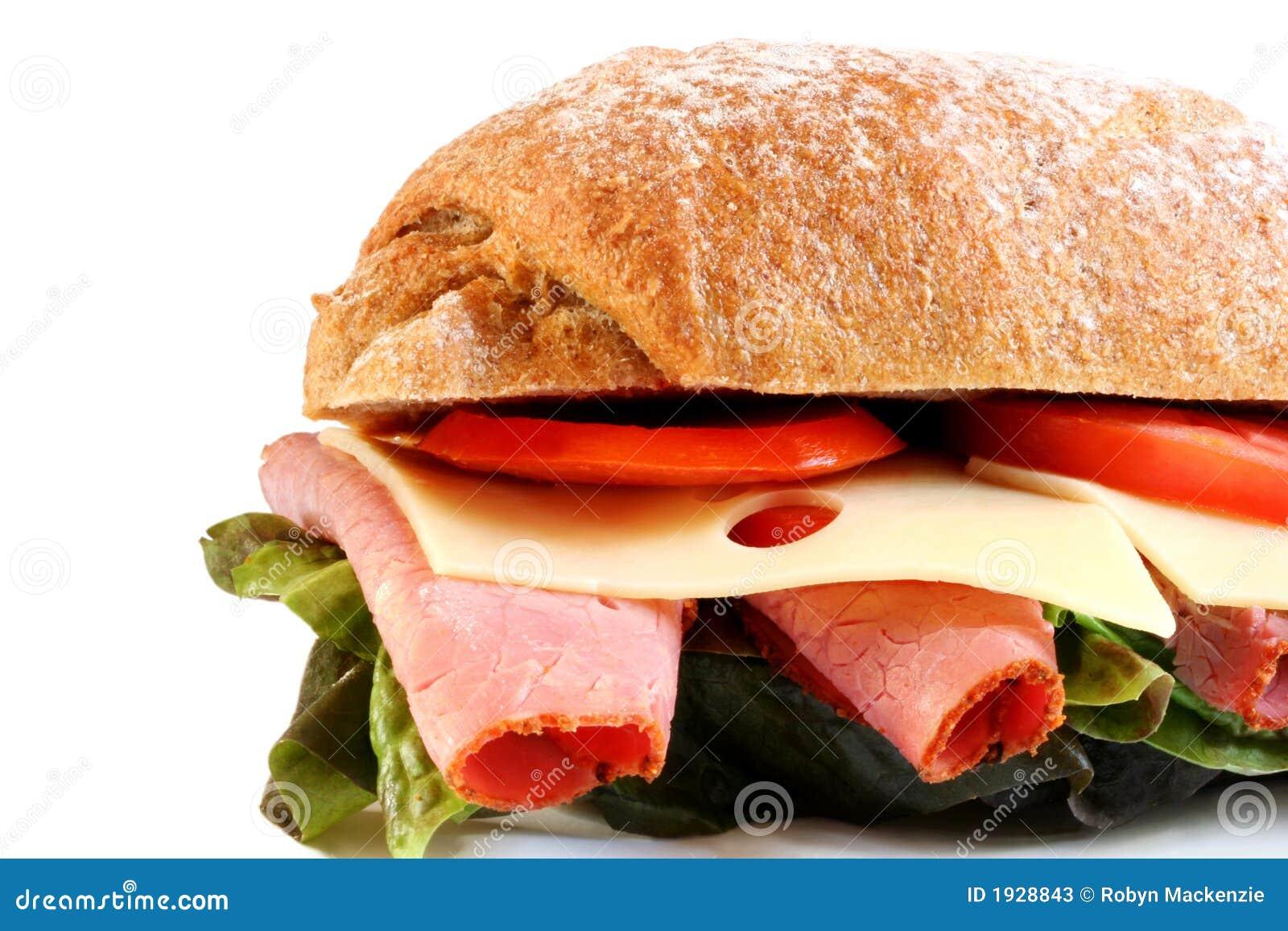De Sandwich van de delicatessenwinkel