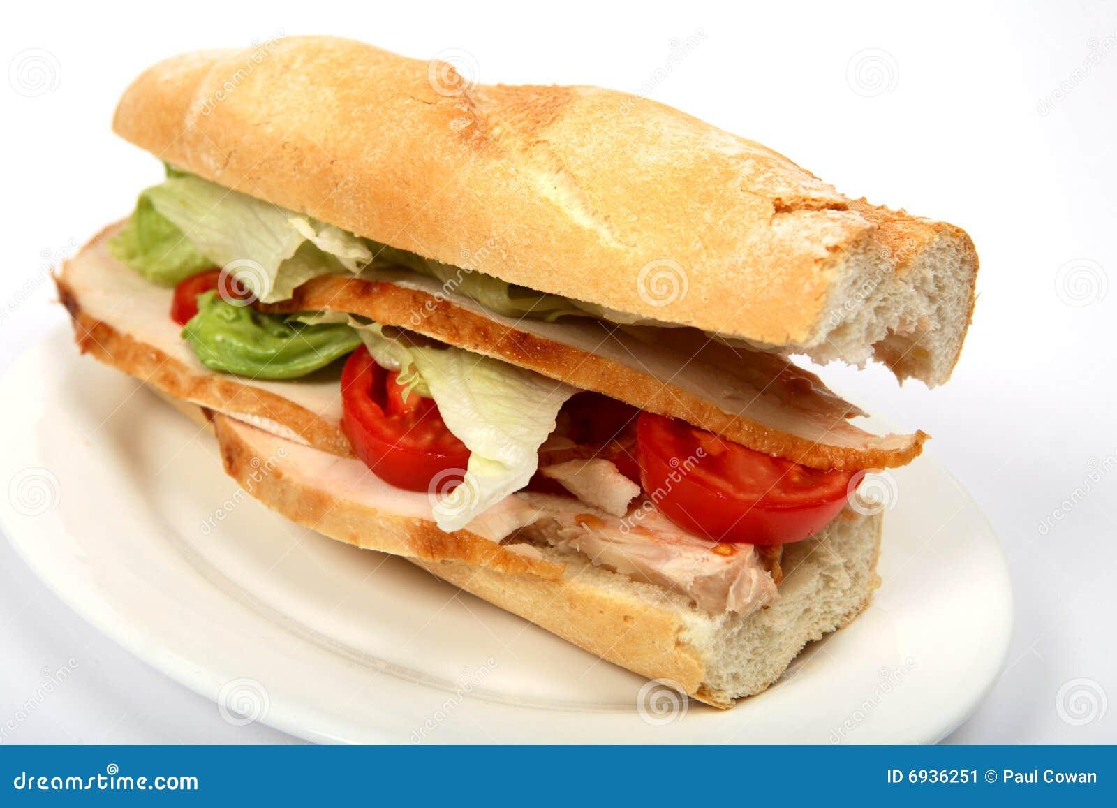De sandwich van Turkije