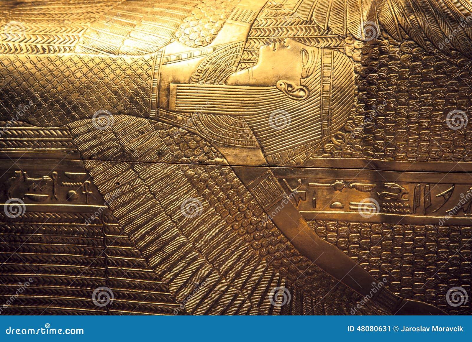 De sarcofaag van Tutankhamun