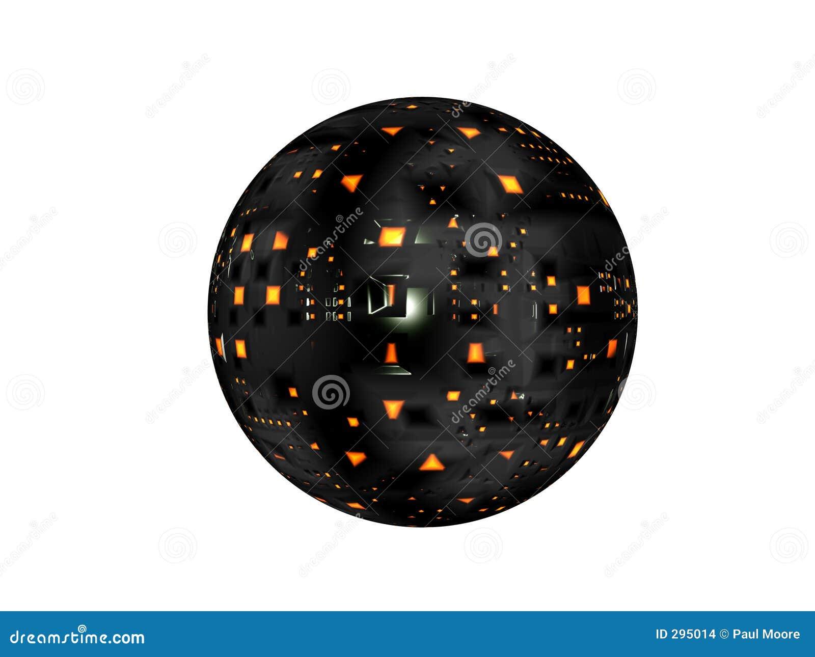 De Satelliet van het ruimteschip