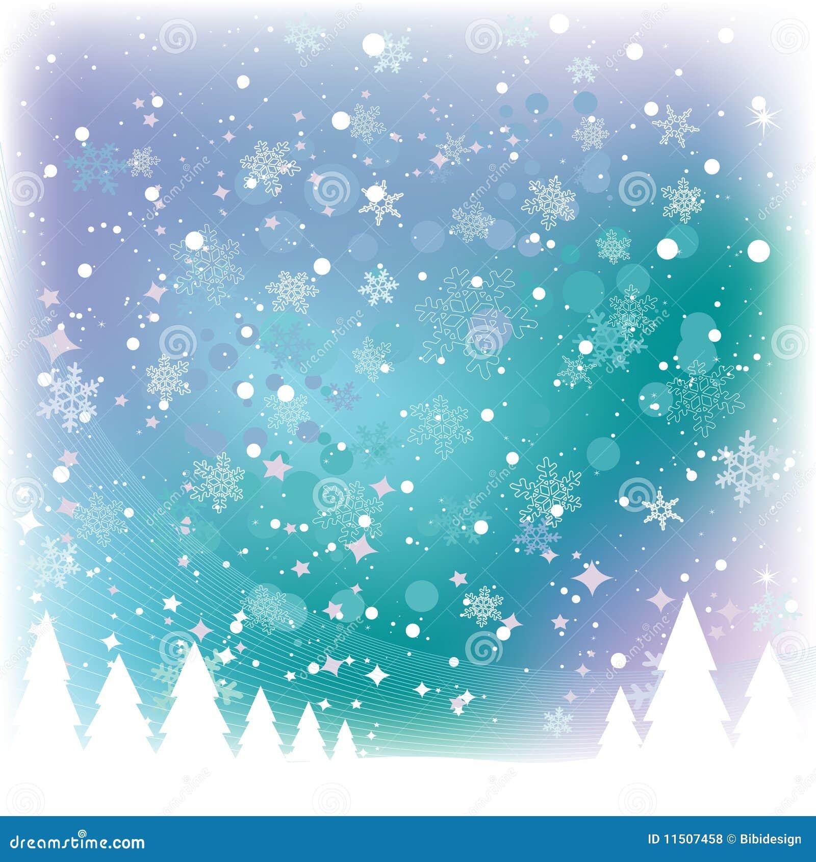 De Scène van de sneeuw
