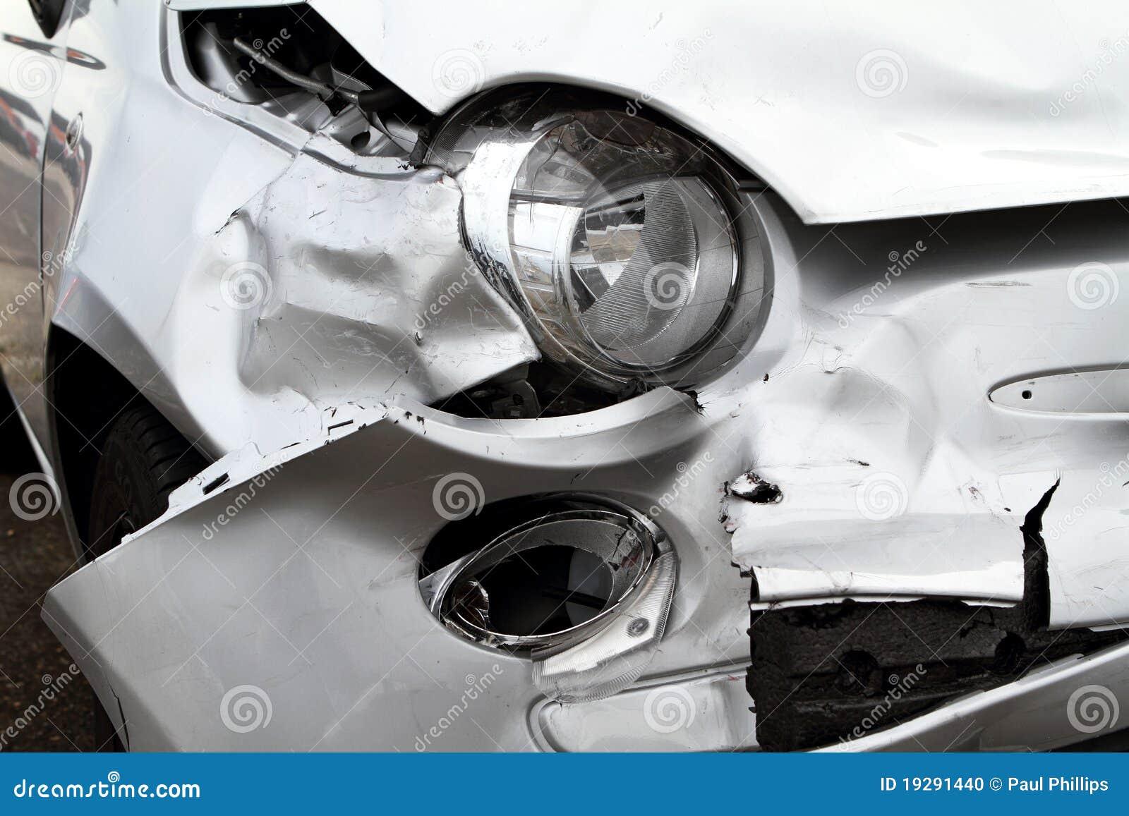 De Schade van de auto