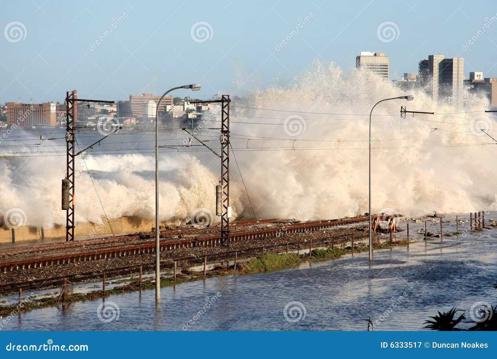 De Schade van de vloed