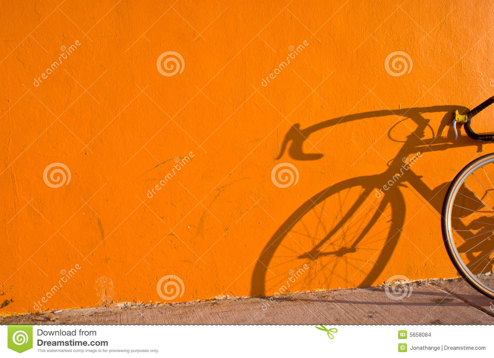 De Schaduw van de fiets