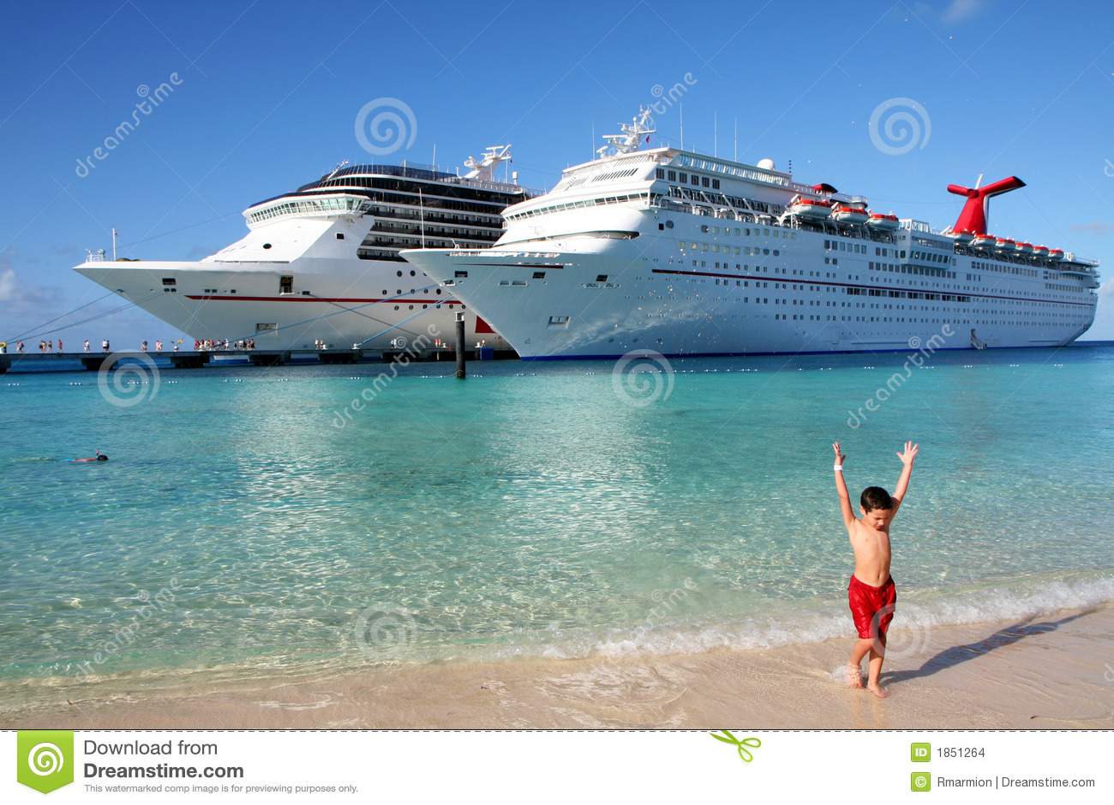 De Schepen van de cruise