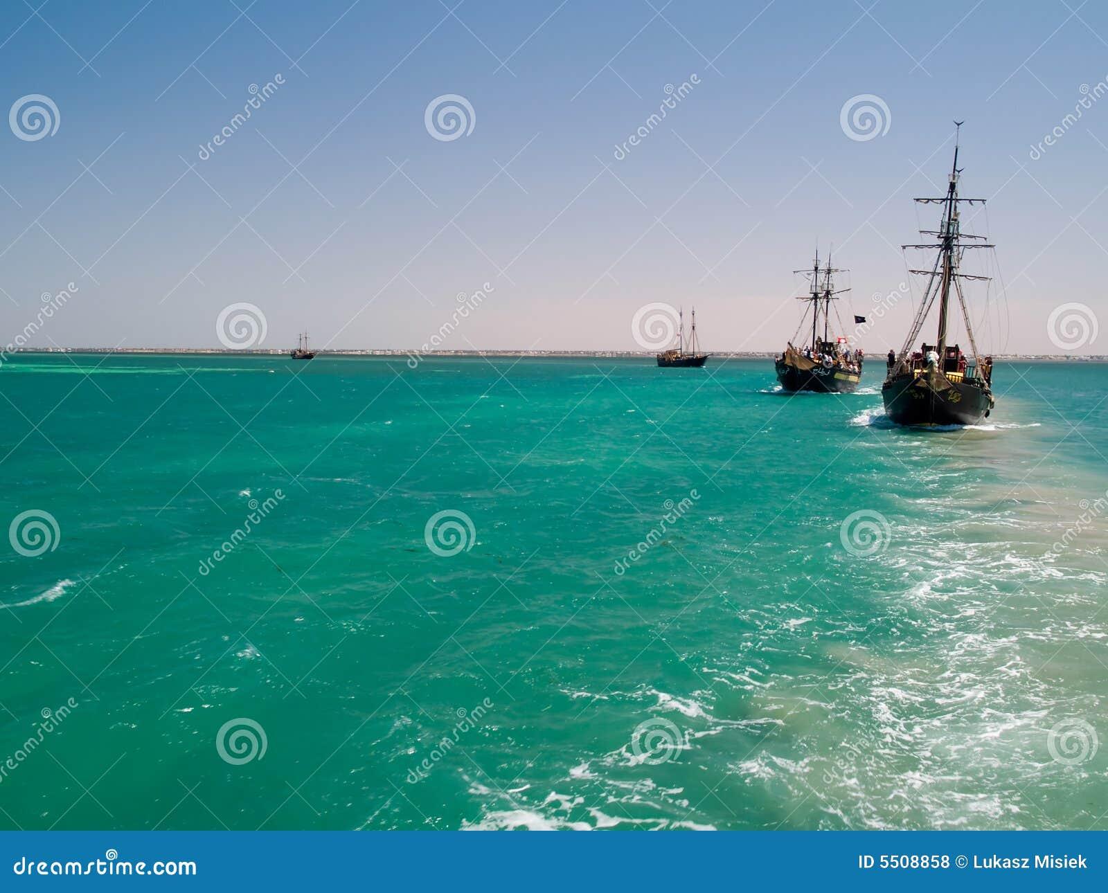 De Schepen van de piraat