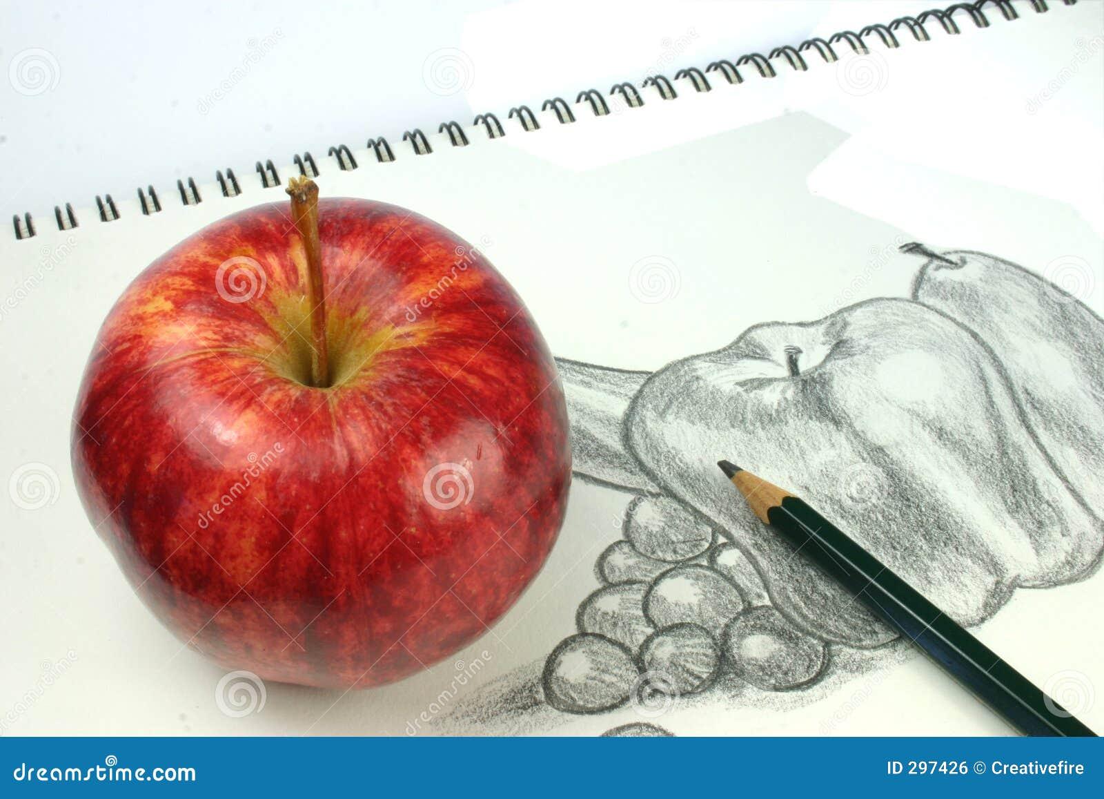 De Schets van het fruit