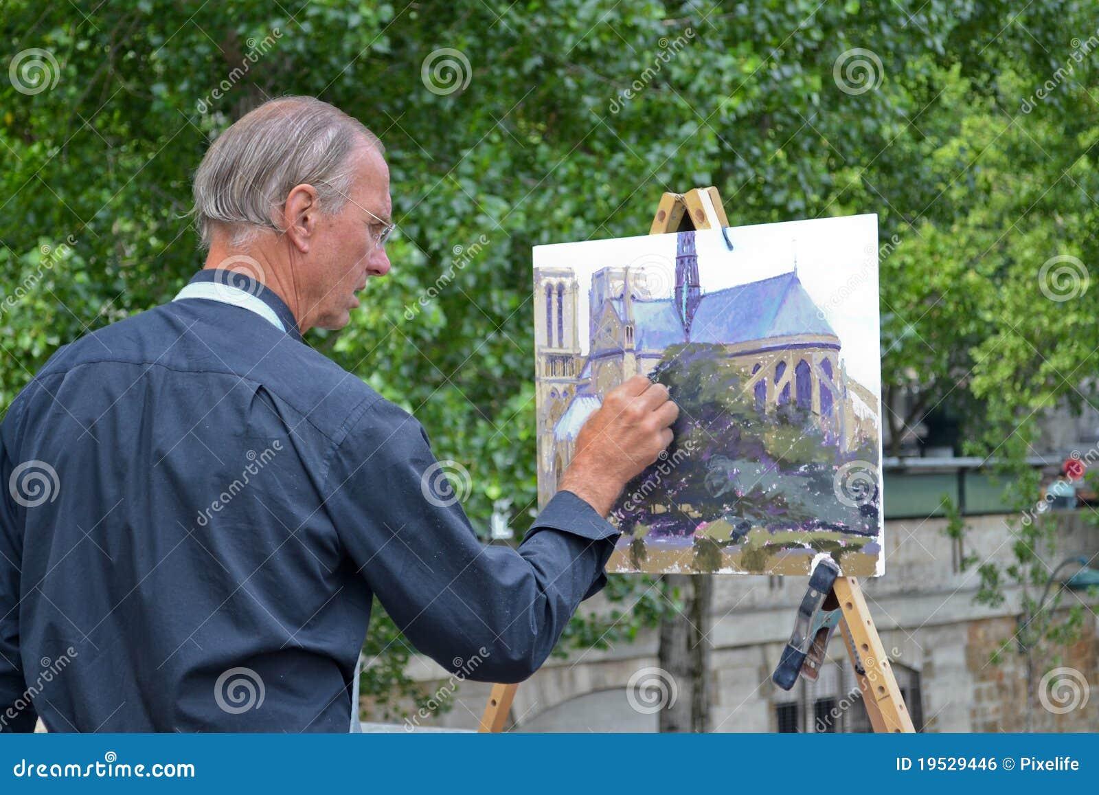 kunstenaar schilder