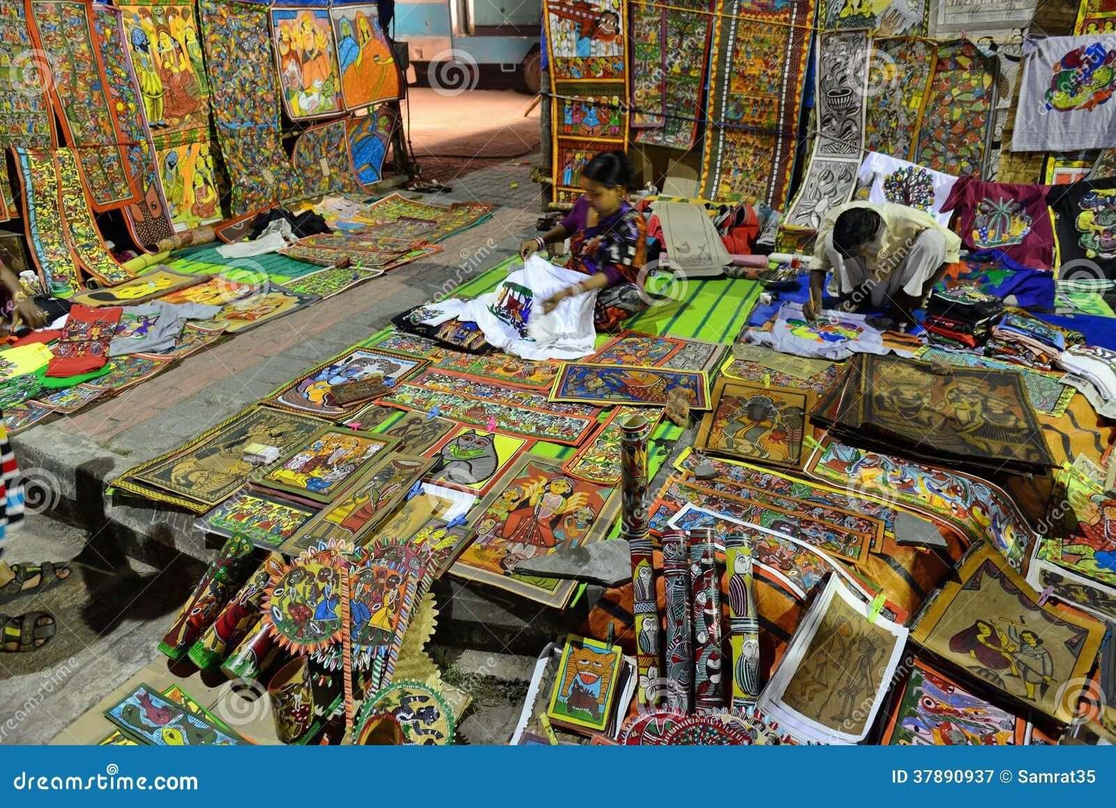 De Schilderijen van Bengalen Patachitra