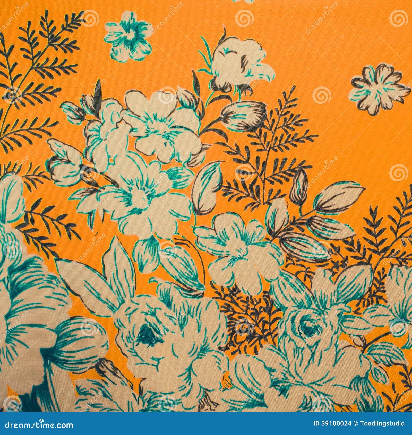 De schilderijen van de bloemtuin.