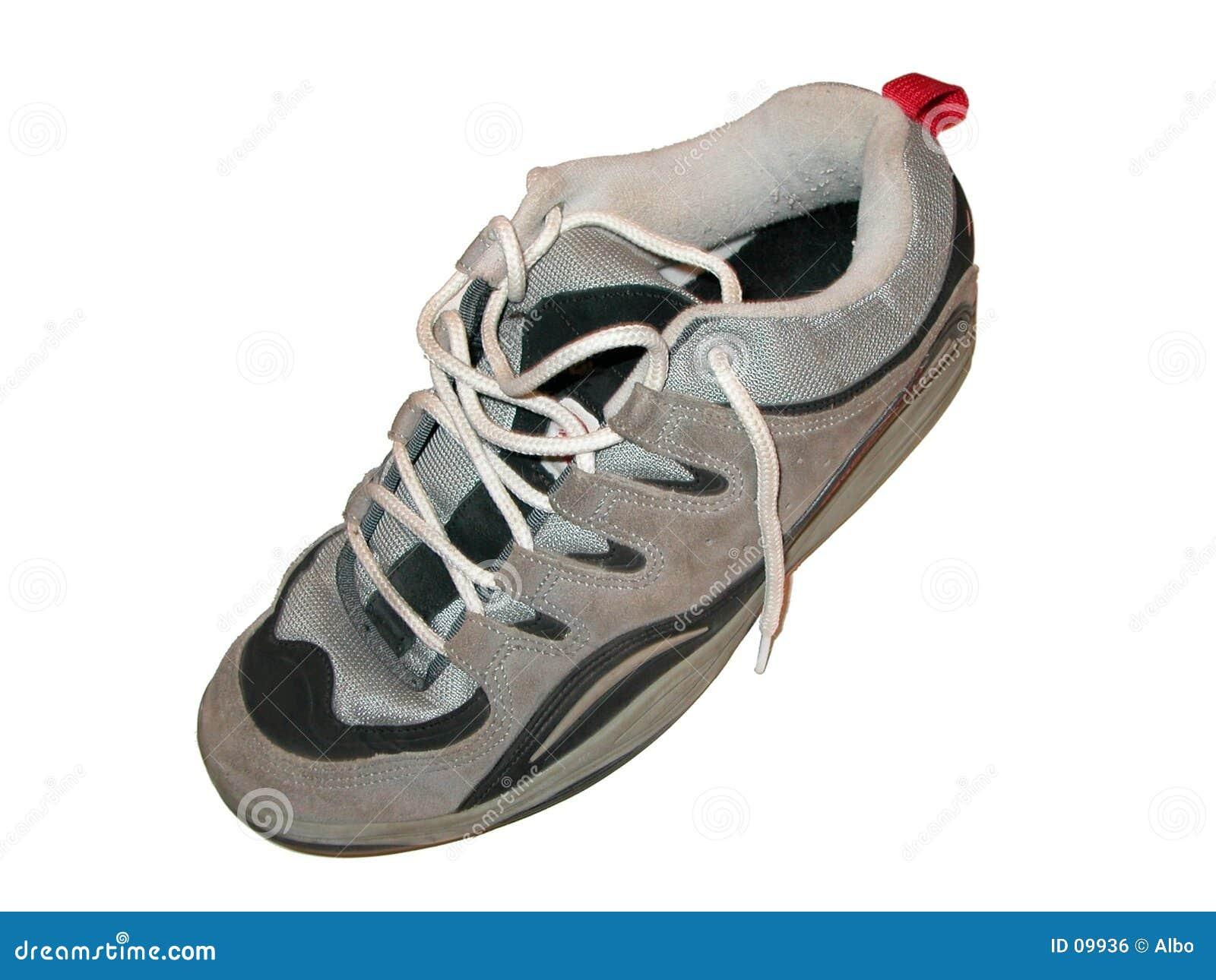 De schoen van de schaatser