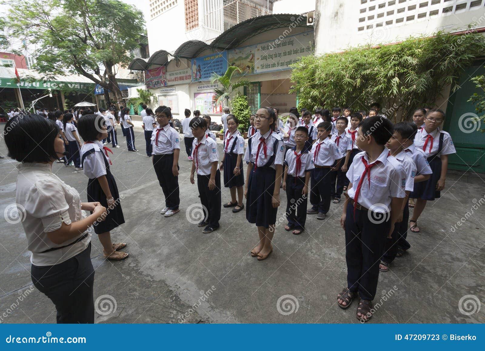 De scholen van Vietnam