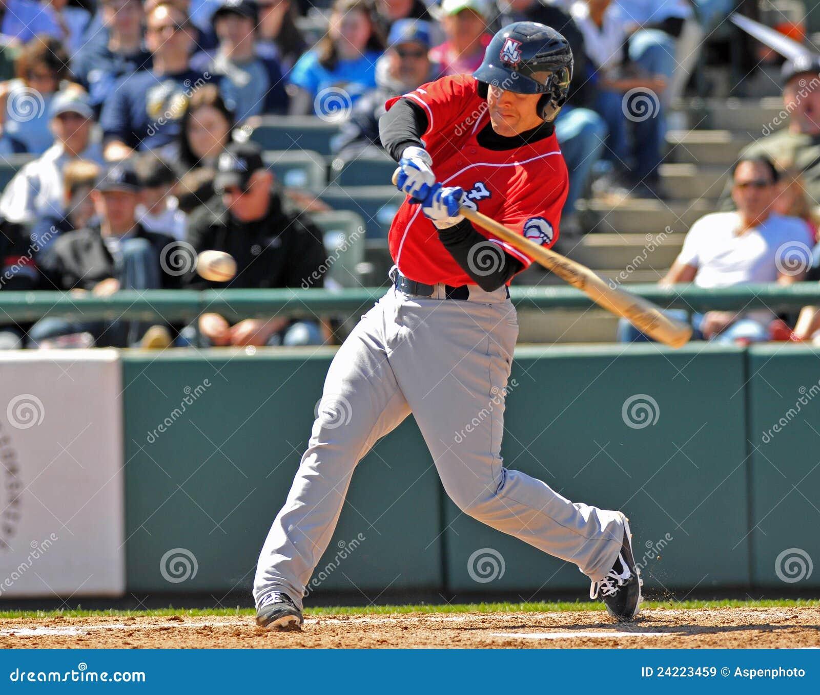 De schommeling van het honkbal