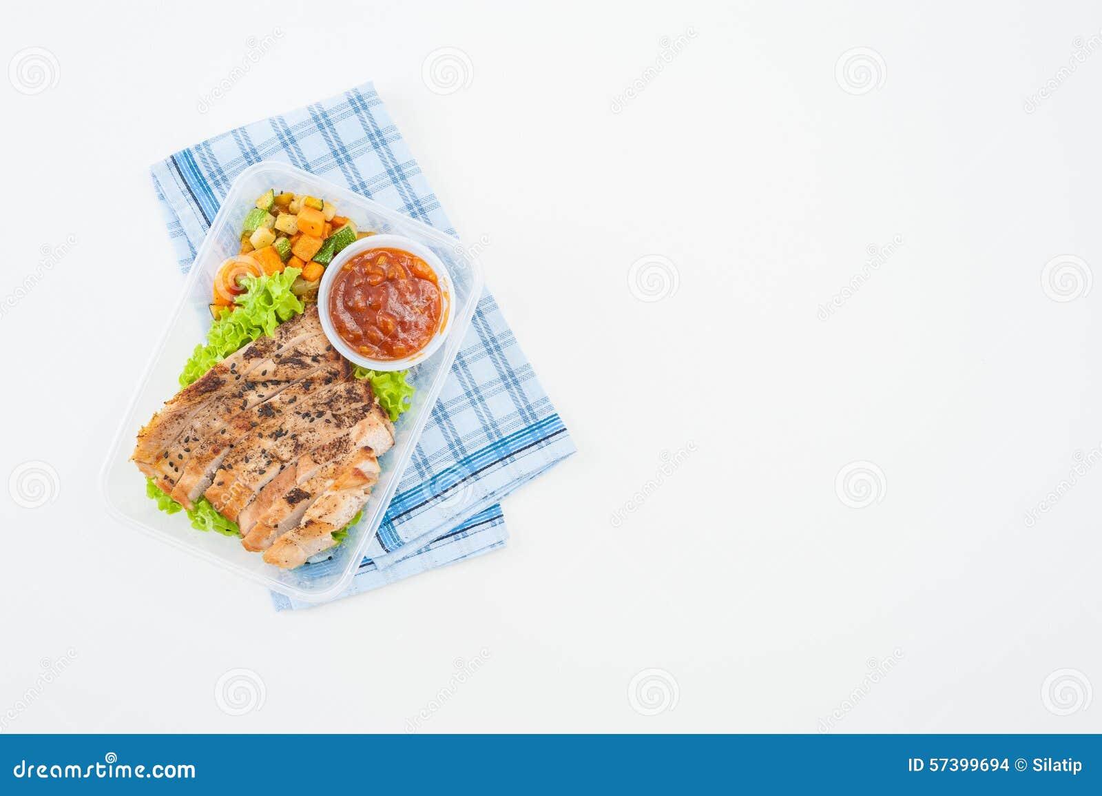 De schone doos van de voedsellunch