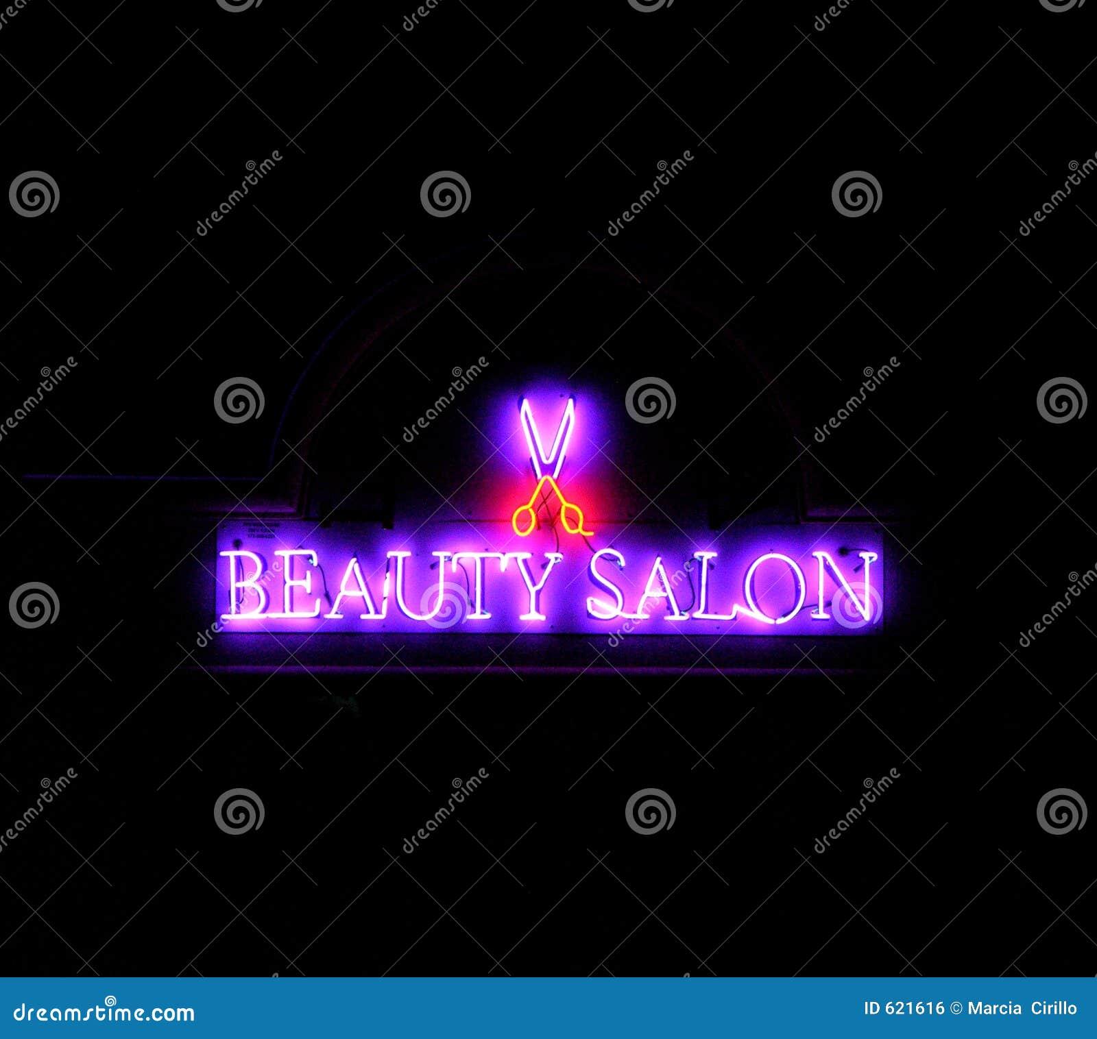 De schoonheid van het neon