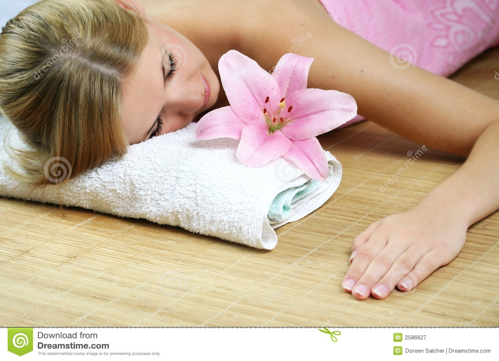 De schoonheidsportret van Wellness