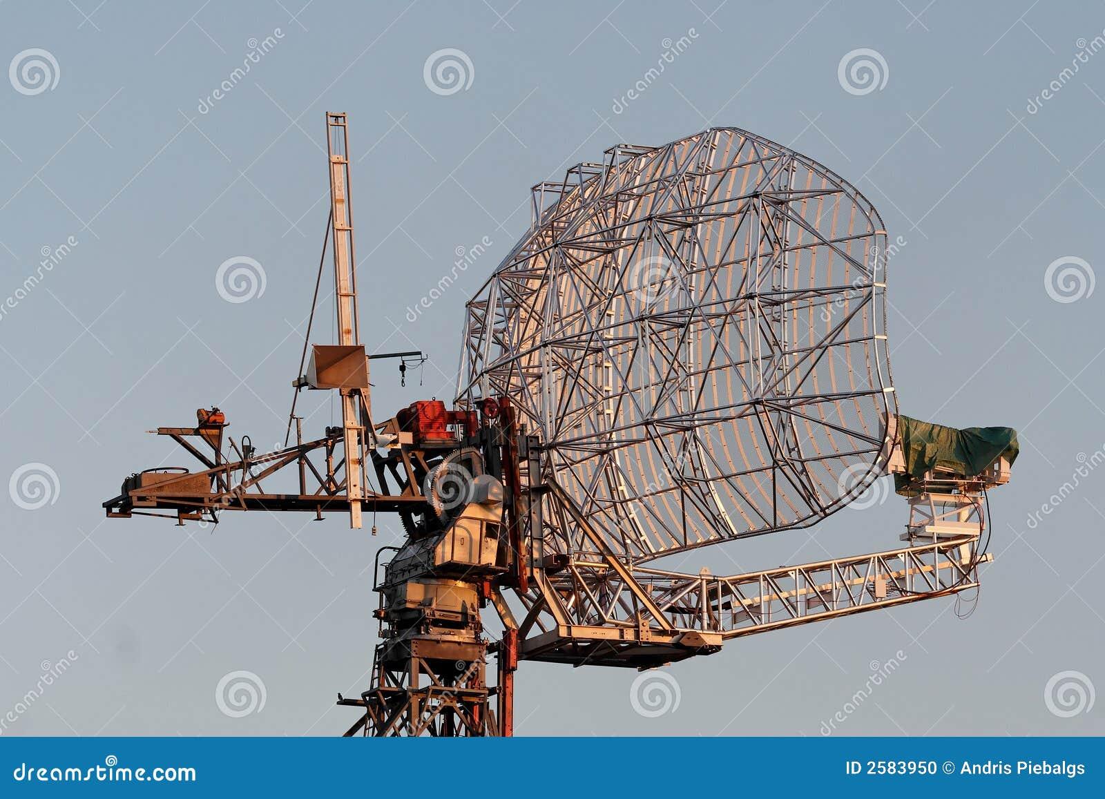 De schotel van de radar