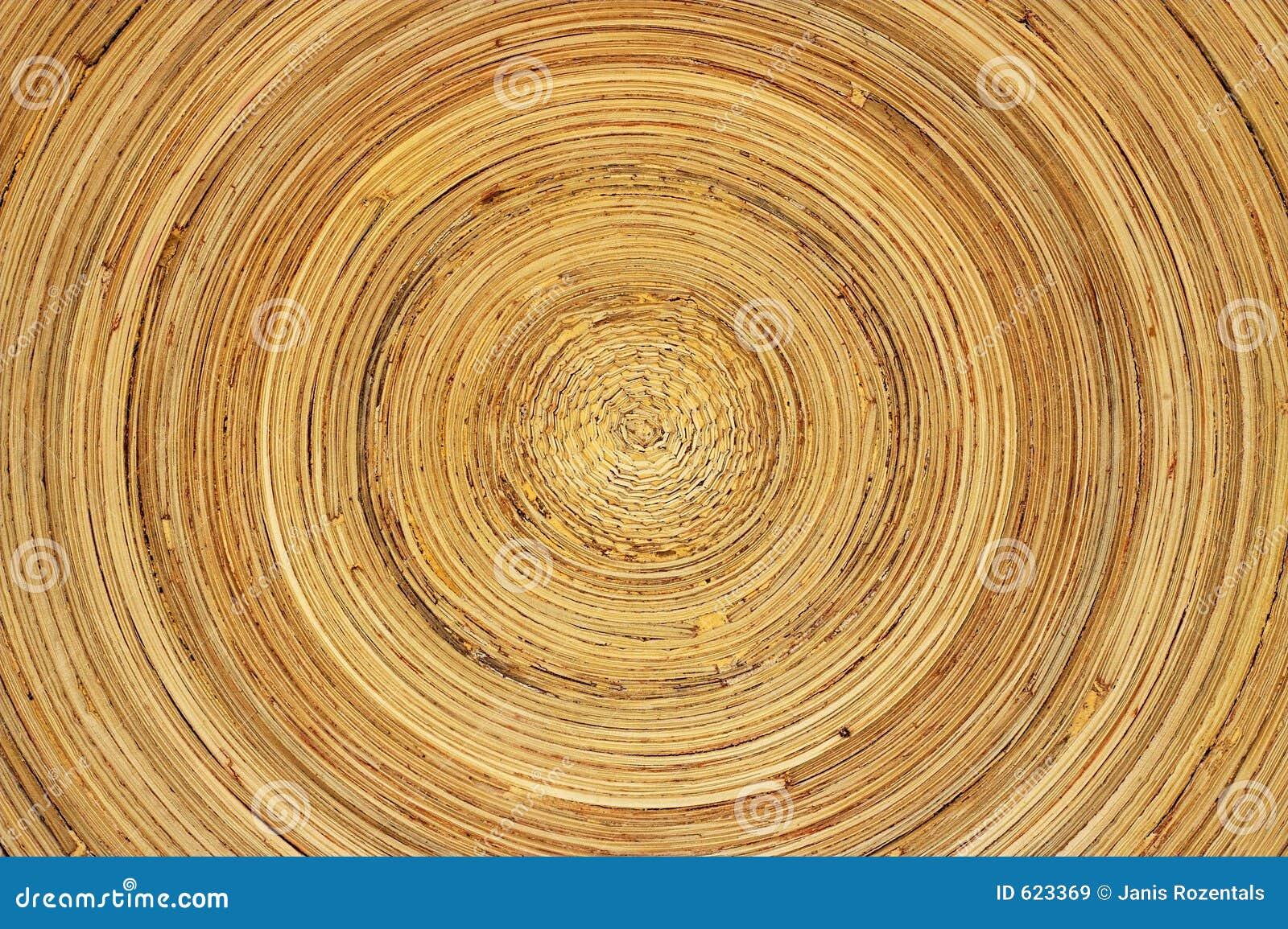 De schotel van het bamboe
