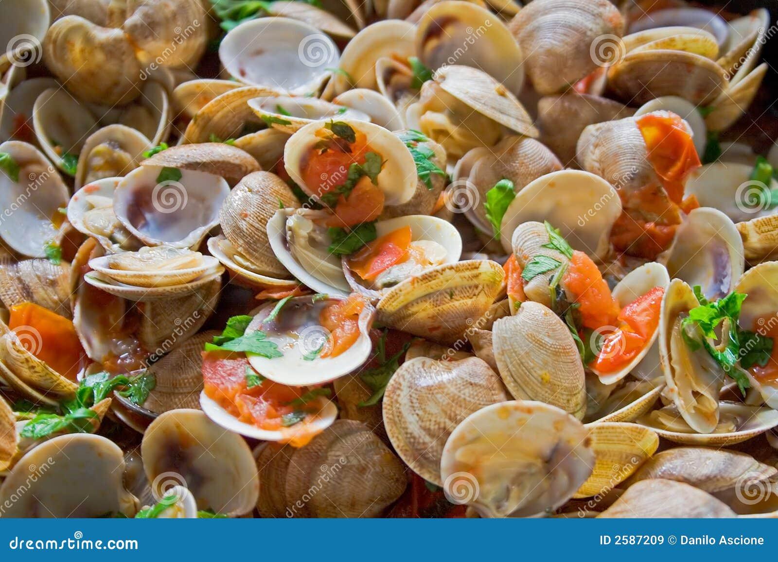 De schotel van zeevruchten