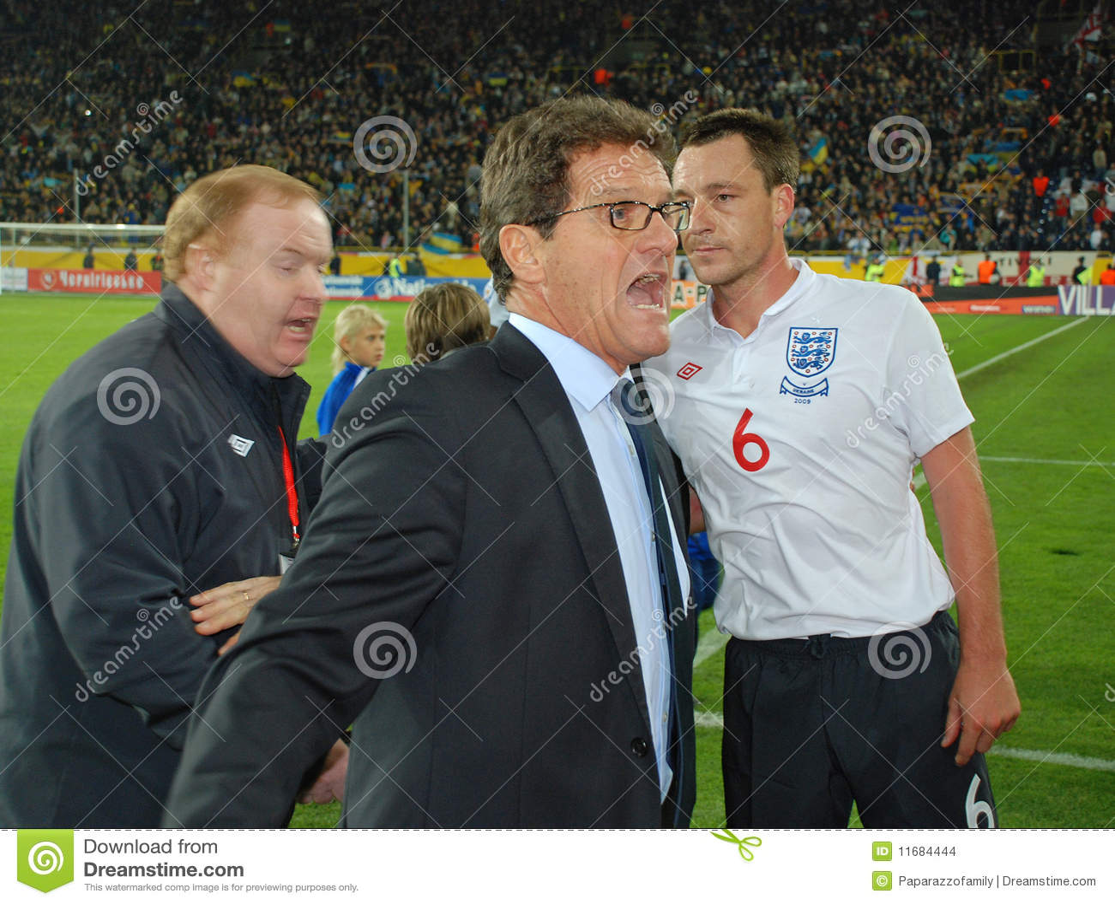 De schreeuw van Fabio Capello