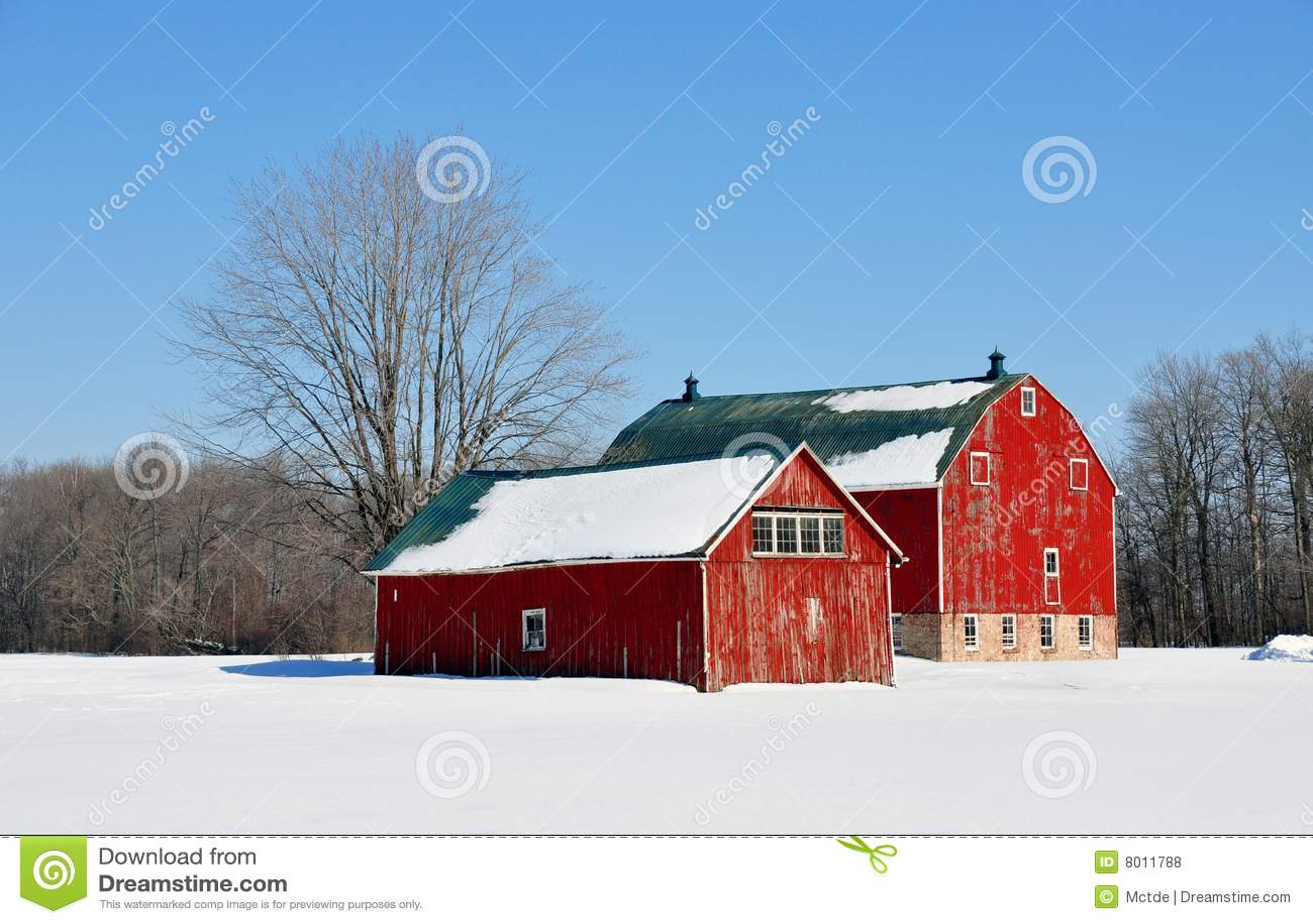 De schuren van de winter