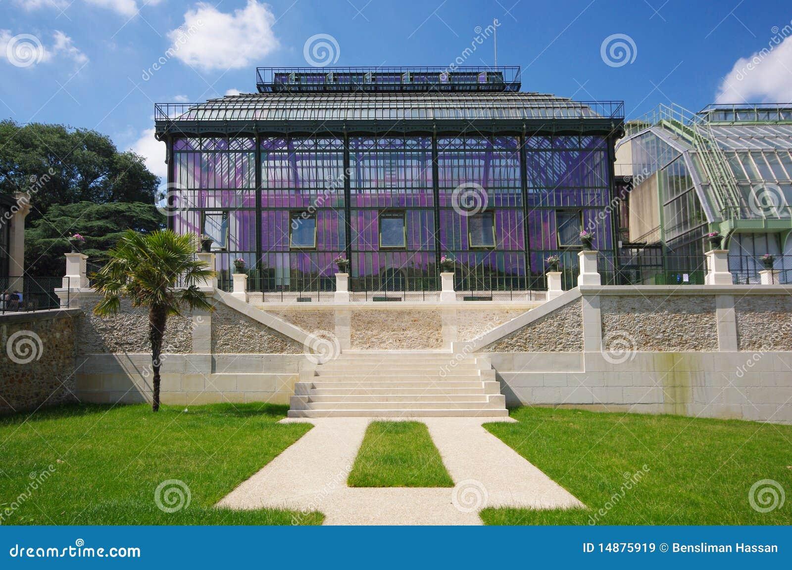 de serre van parijs in jardin des plantes stock afbeelding afbeelding 14875919. Black Bedroom Furniture Sets. Home Design Ideas