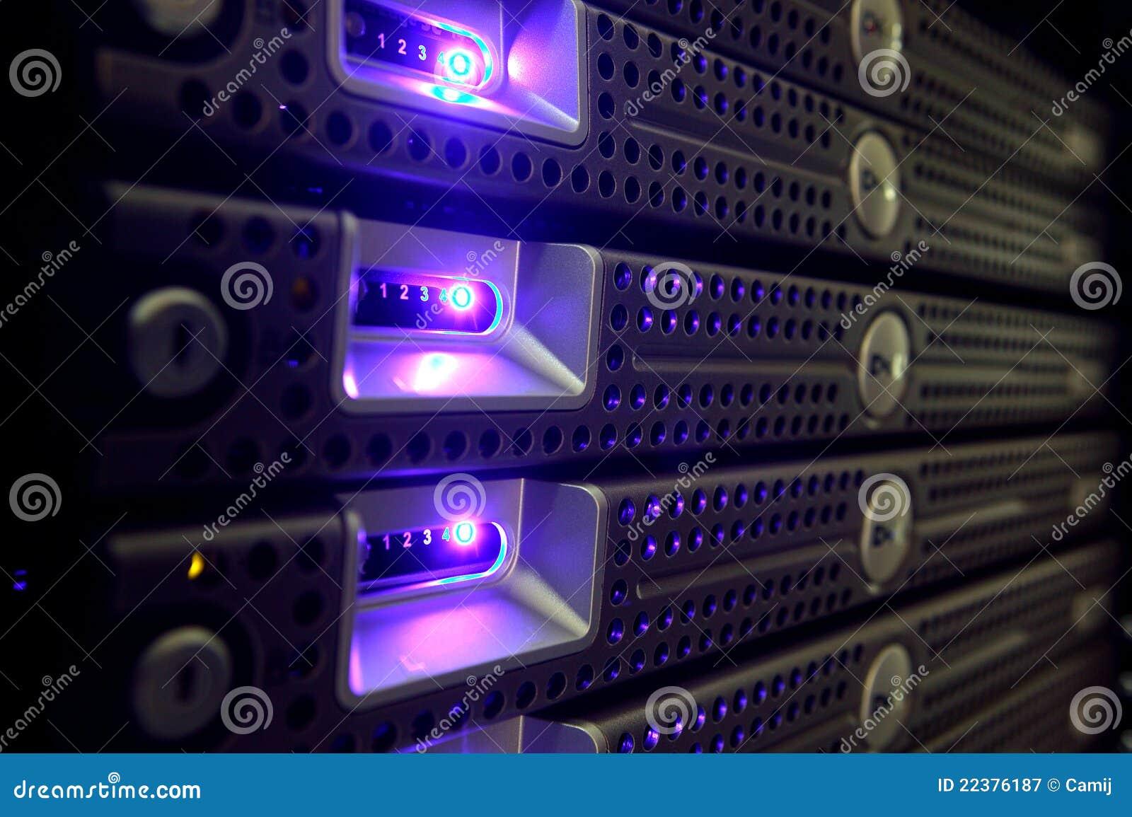 De Servers van het netwerk
