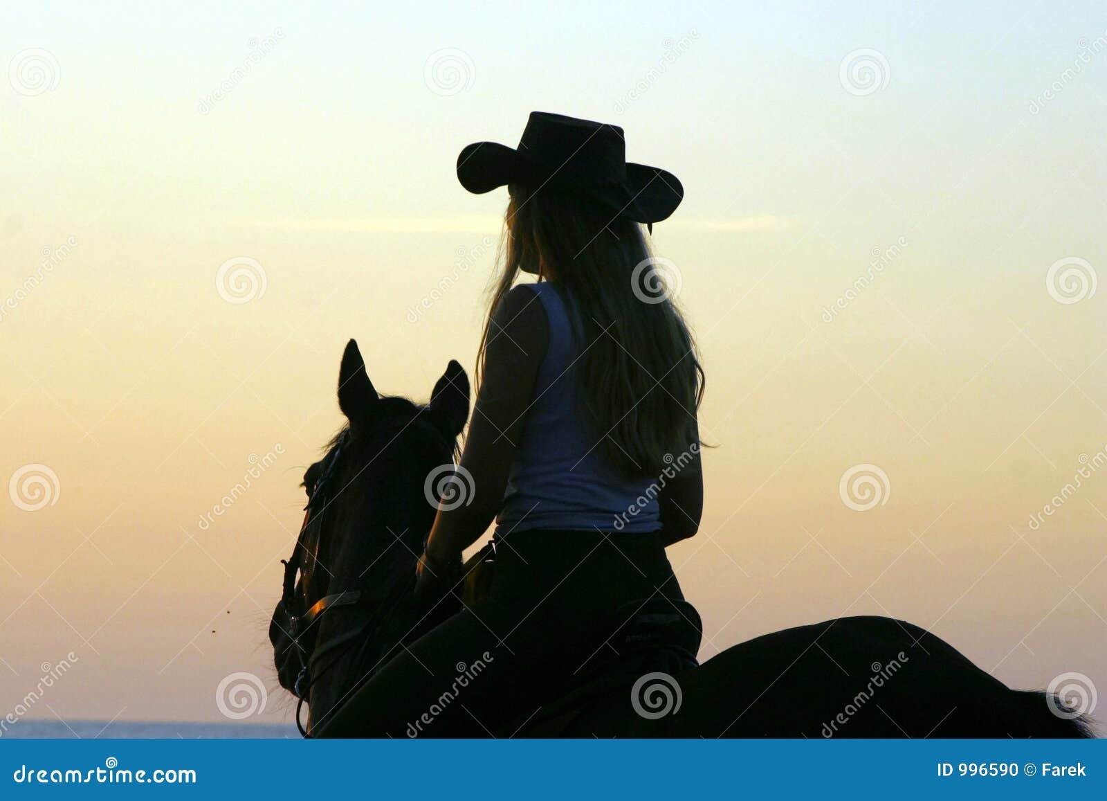 De sexy cowboy van Meisjes