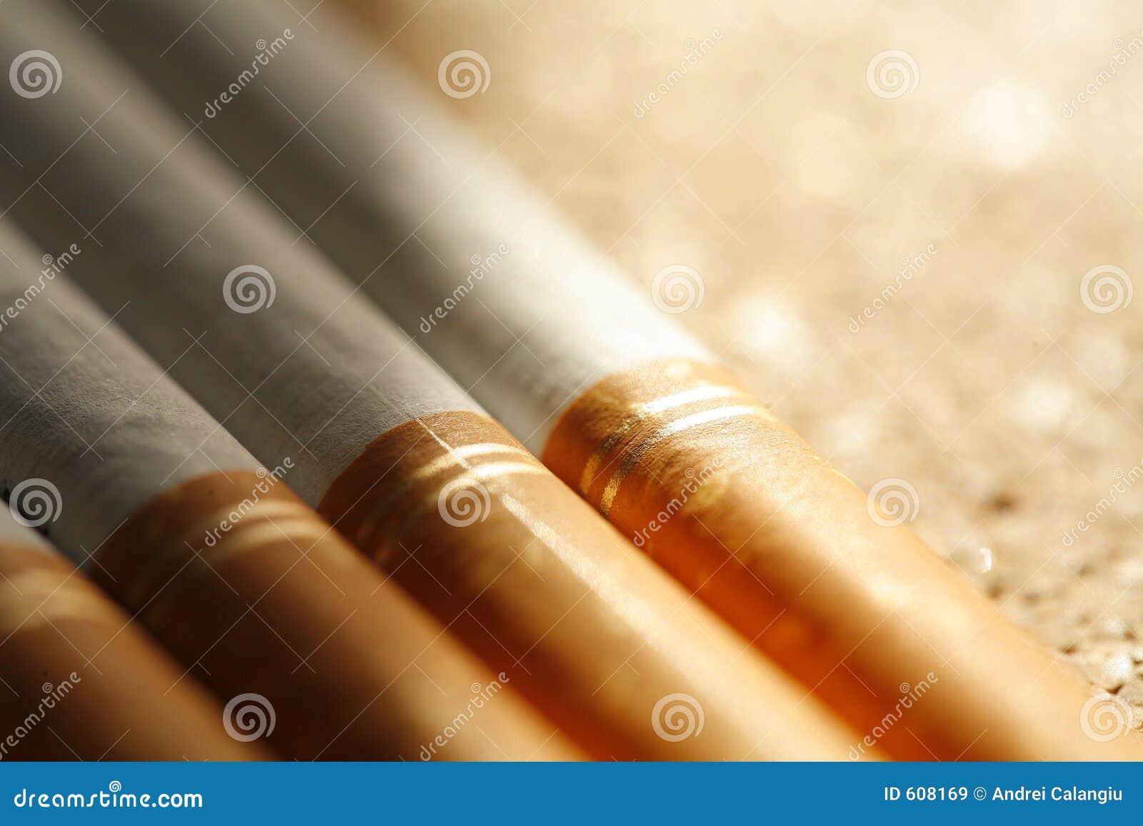 De sigaretten van de premie