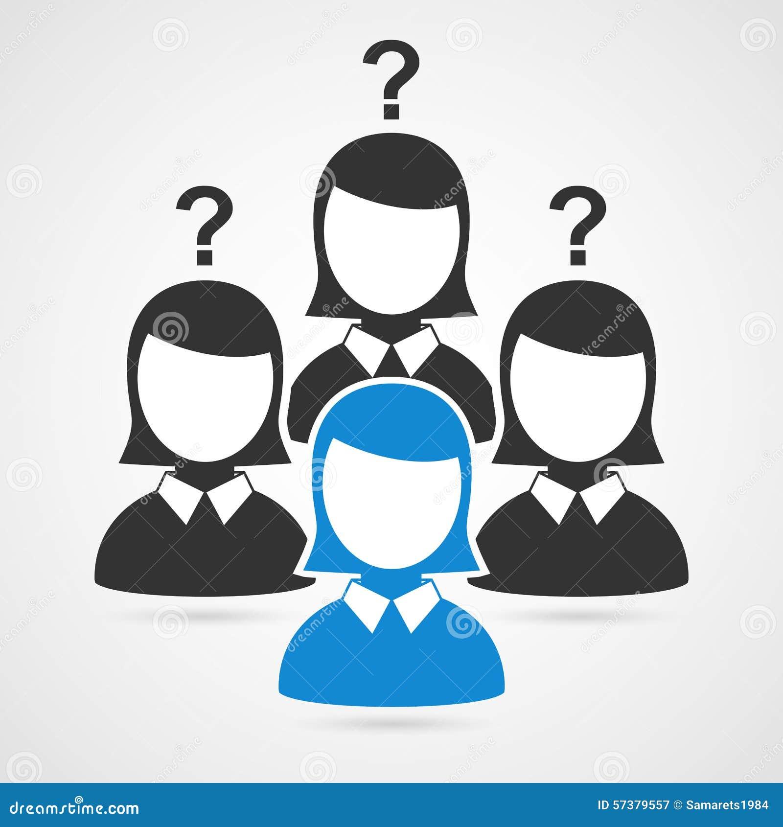 De silhouetten van de zakenmanvrouw