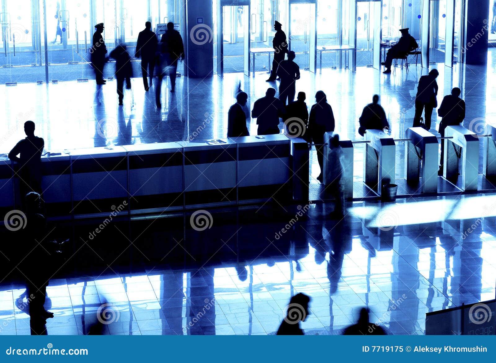 De silhouetten van mensen