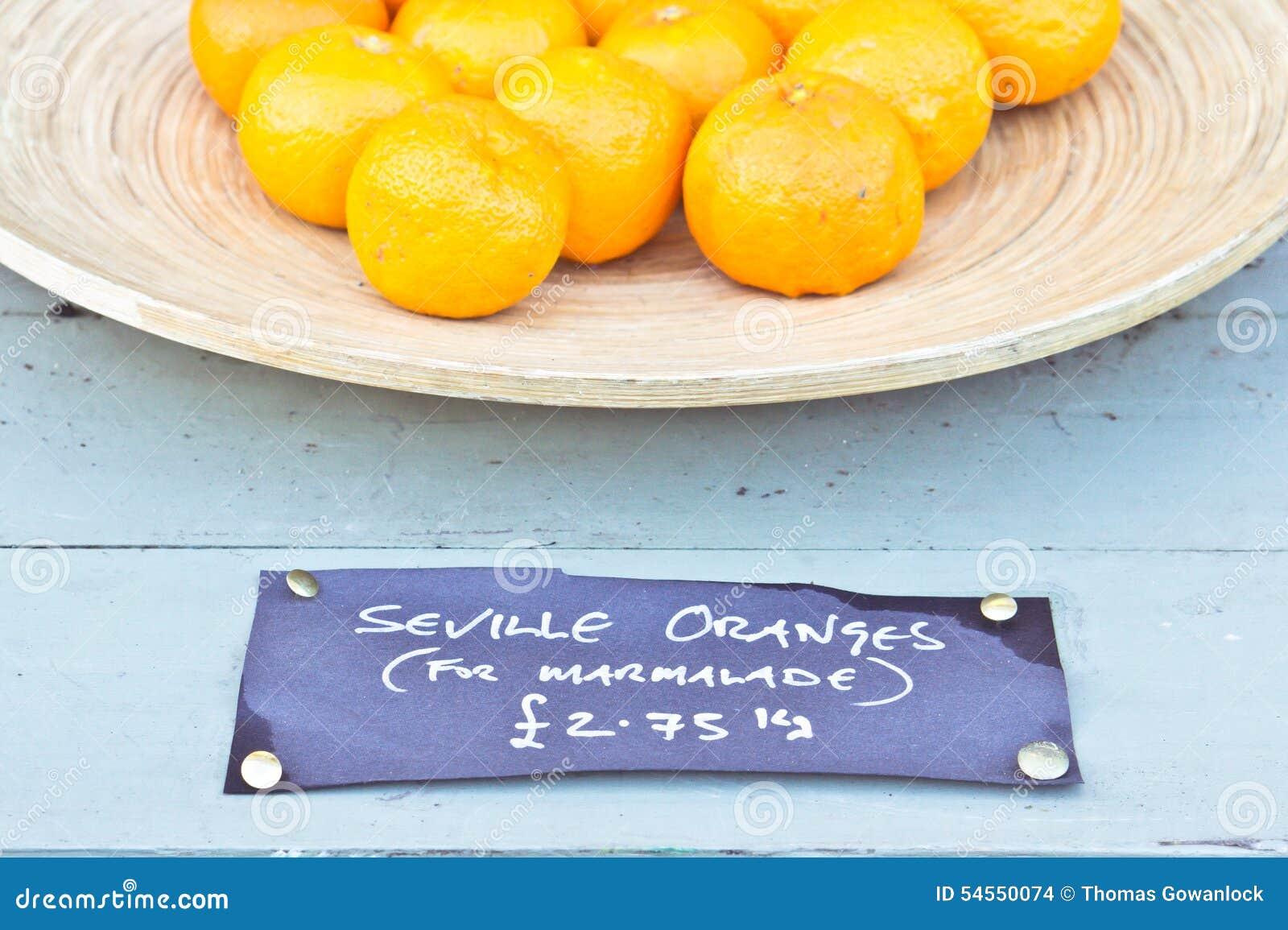 De Sinaasappelen van Sevilla