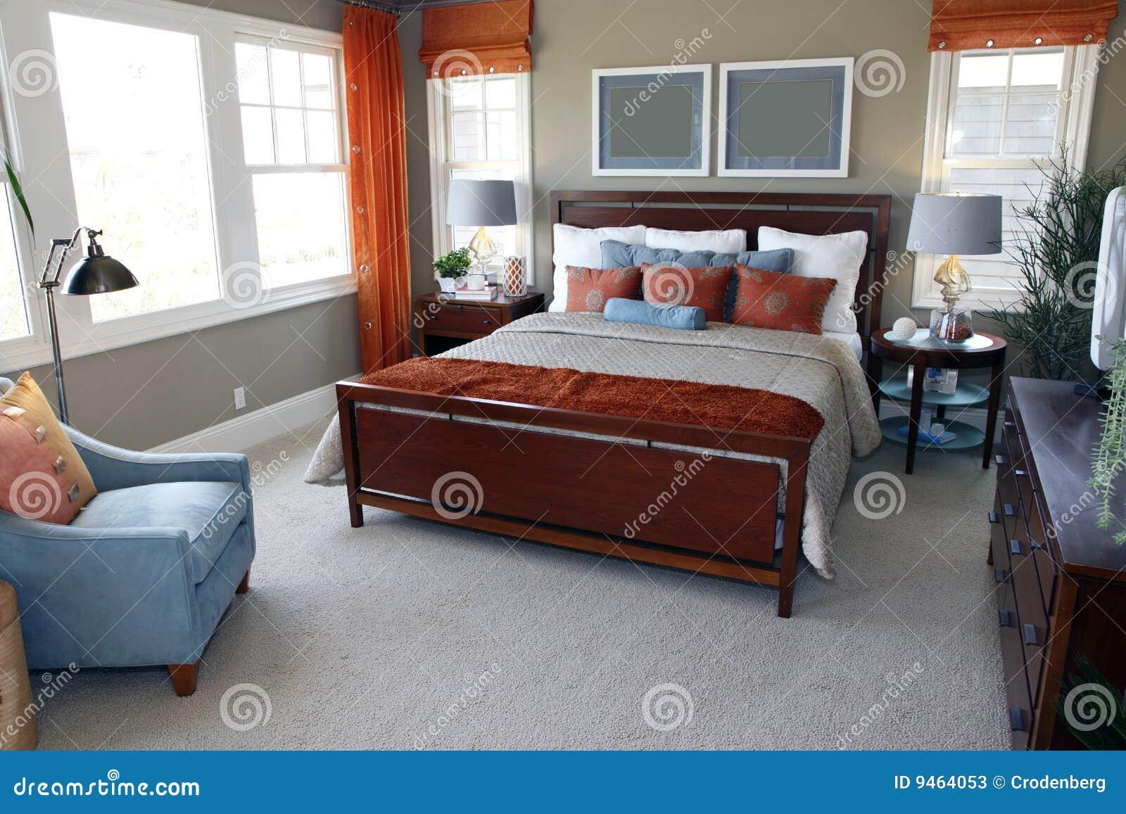 de slaapkamer van de ontwerper stock foto's  afbeelding, Meubels Ideeën