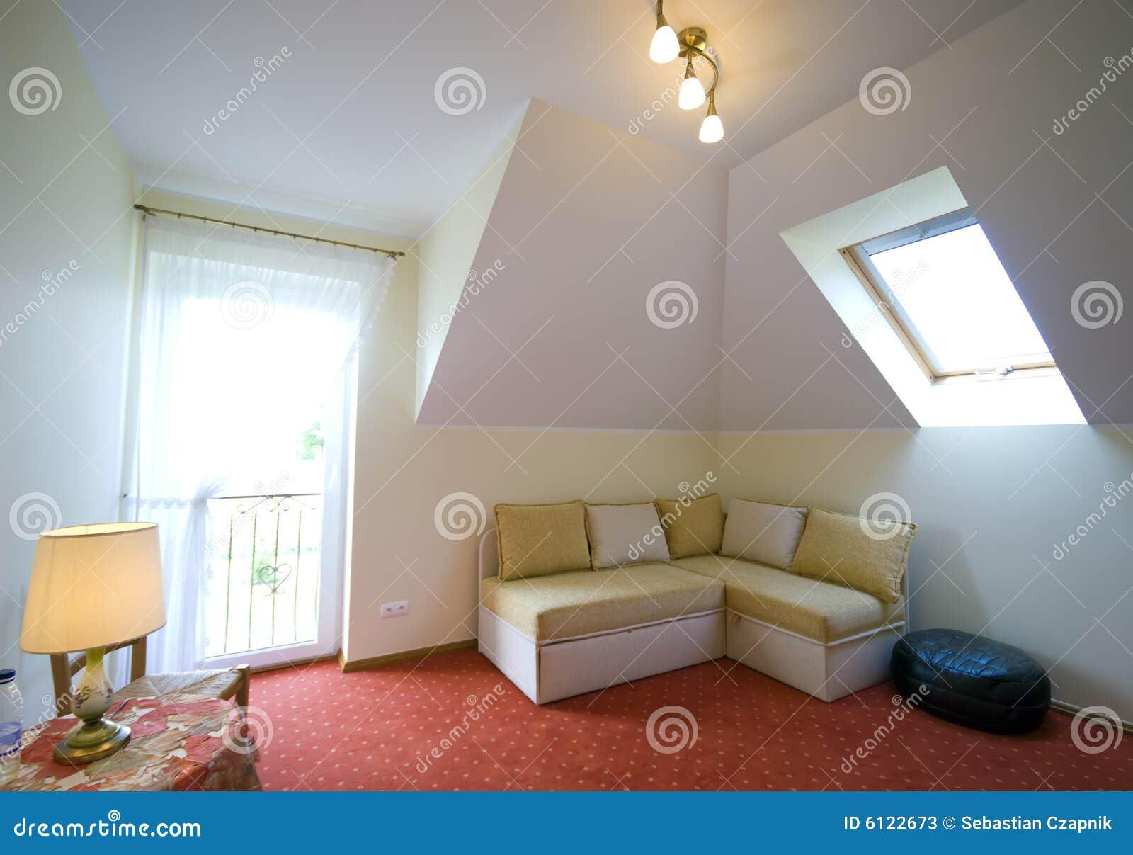 De slaapkamer van de zolder stock foto 39 s beeld 6122673 for 3d planner zolder